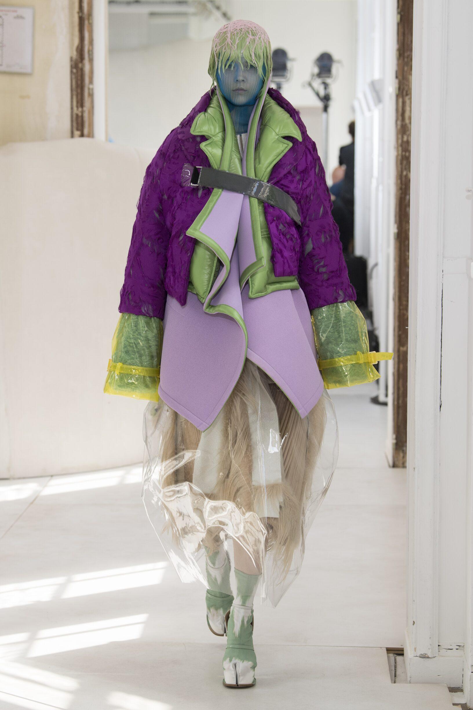 Model Fashion Show Maison Margiela Artisanal