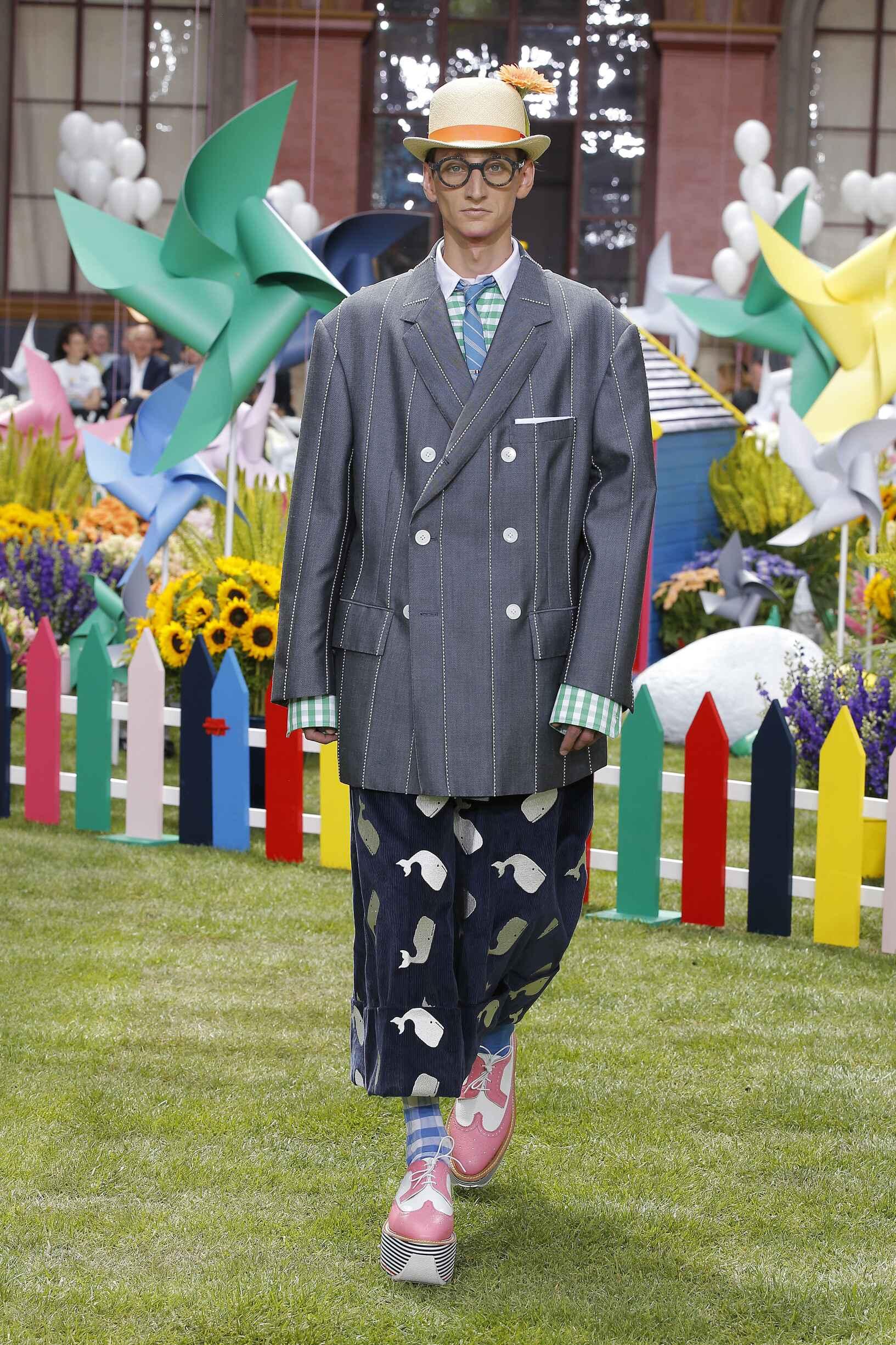 Model Fashion Show Thom Browne