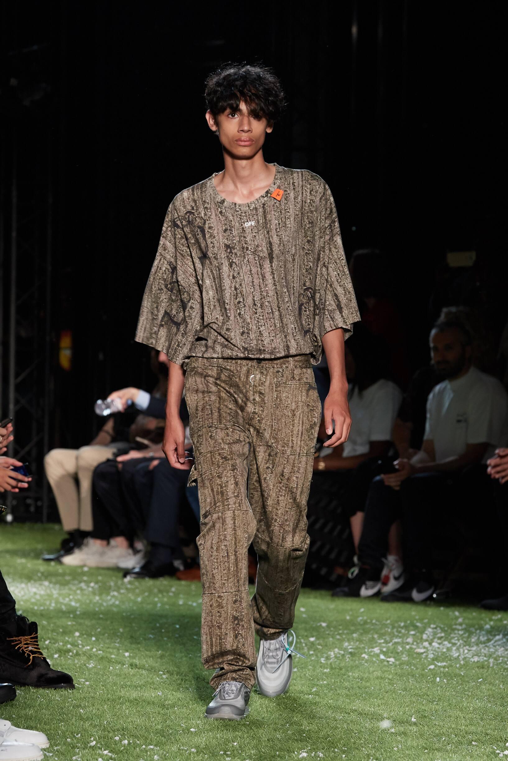 Off-White Paris Fashion Week Menswear