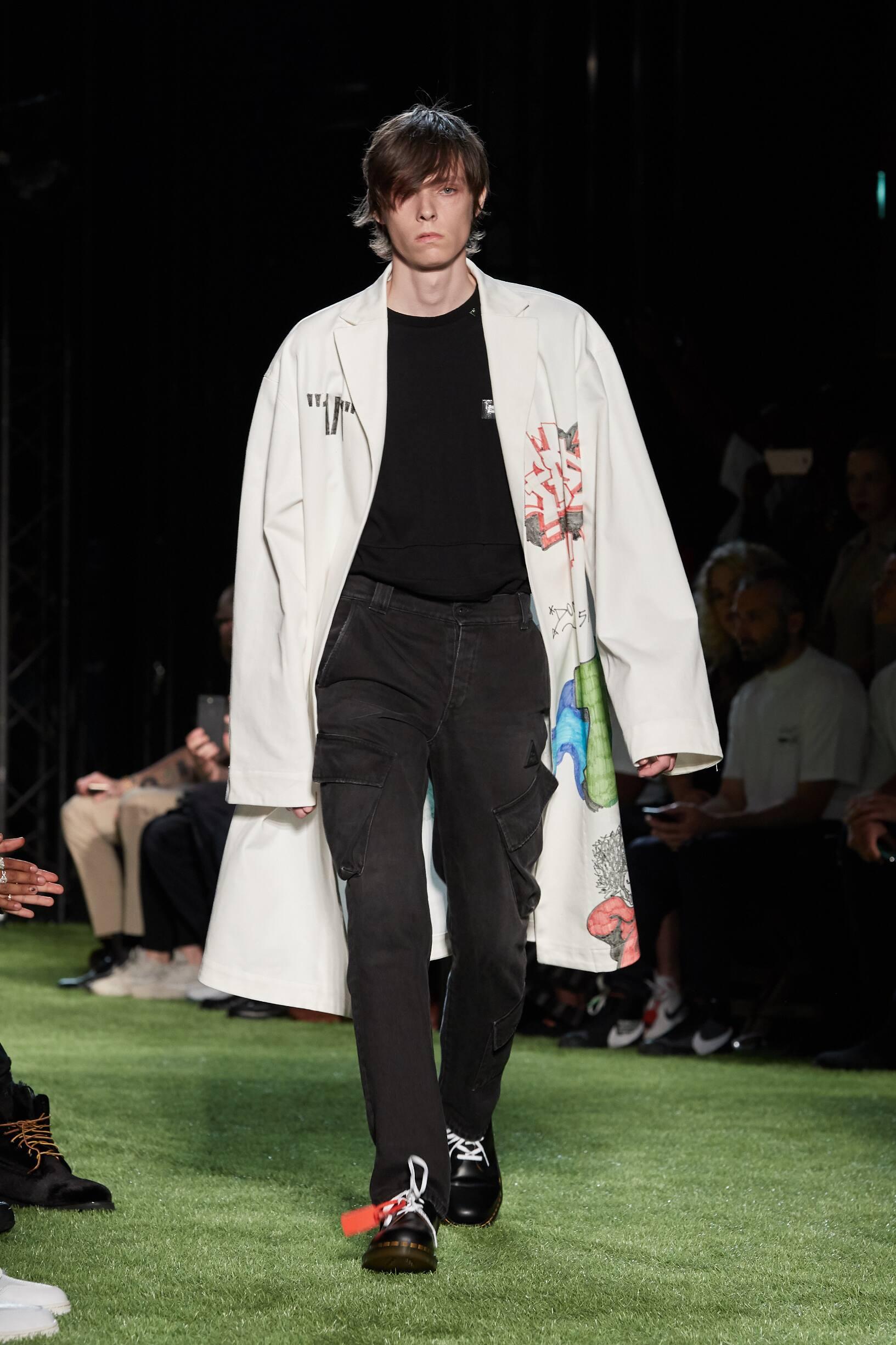 Off-White Spring Summer 2019 Mens Collection Paris Fashion Week