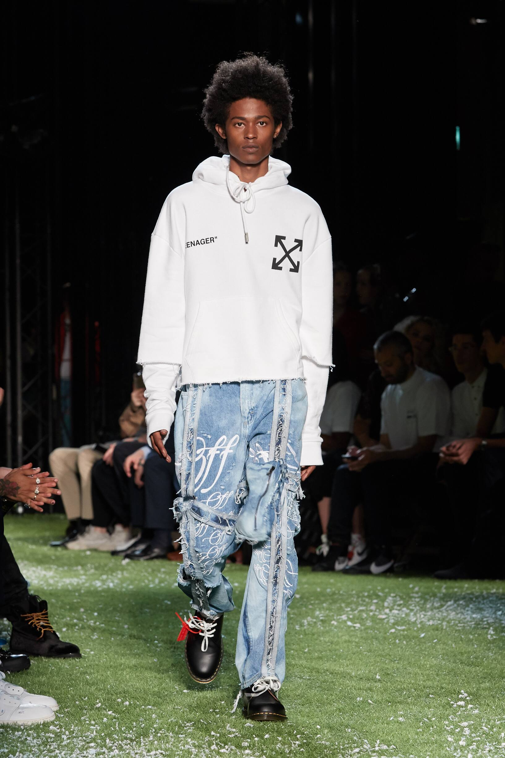 Off-White Summer 2019 Catwalk