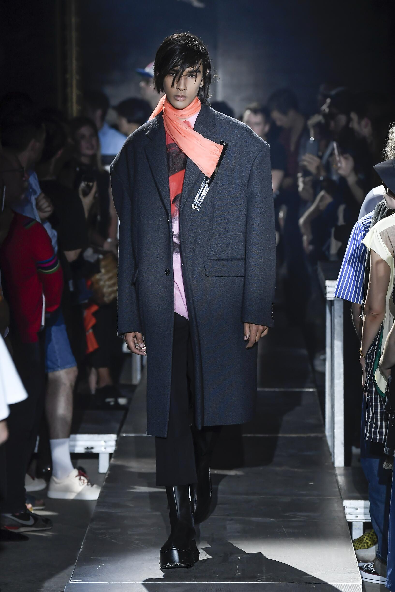 Raf Simons 2019 Paris Men Trends