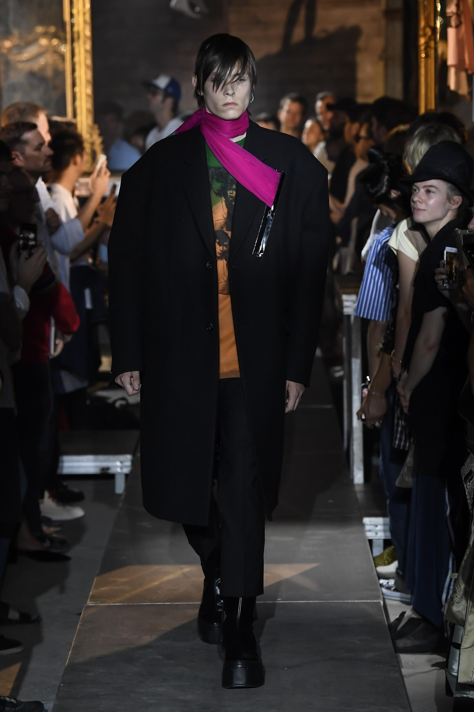 Raf Simons Paris Fashion Week Menswear
