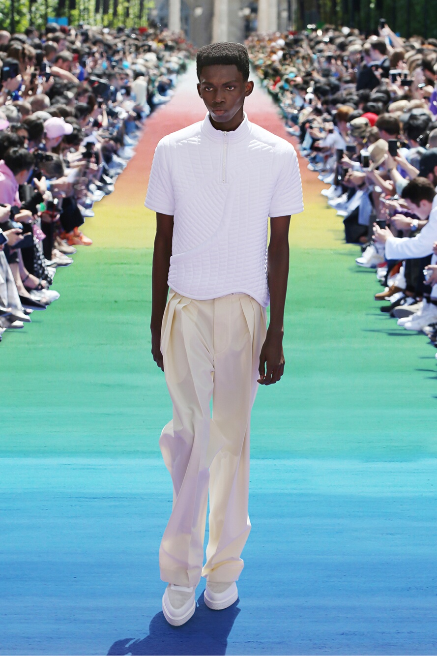 Runway Louis Vuitton Spring Summer 2019 Men's Collection Paris Fashion Week