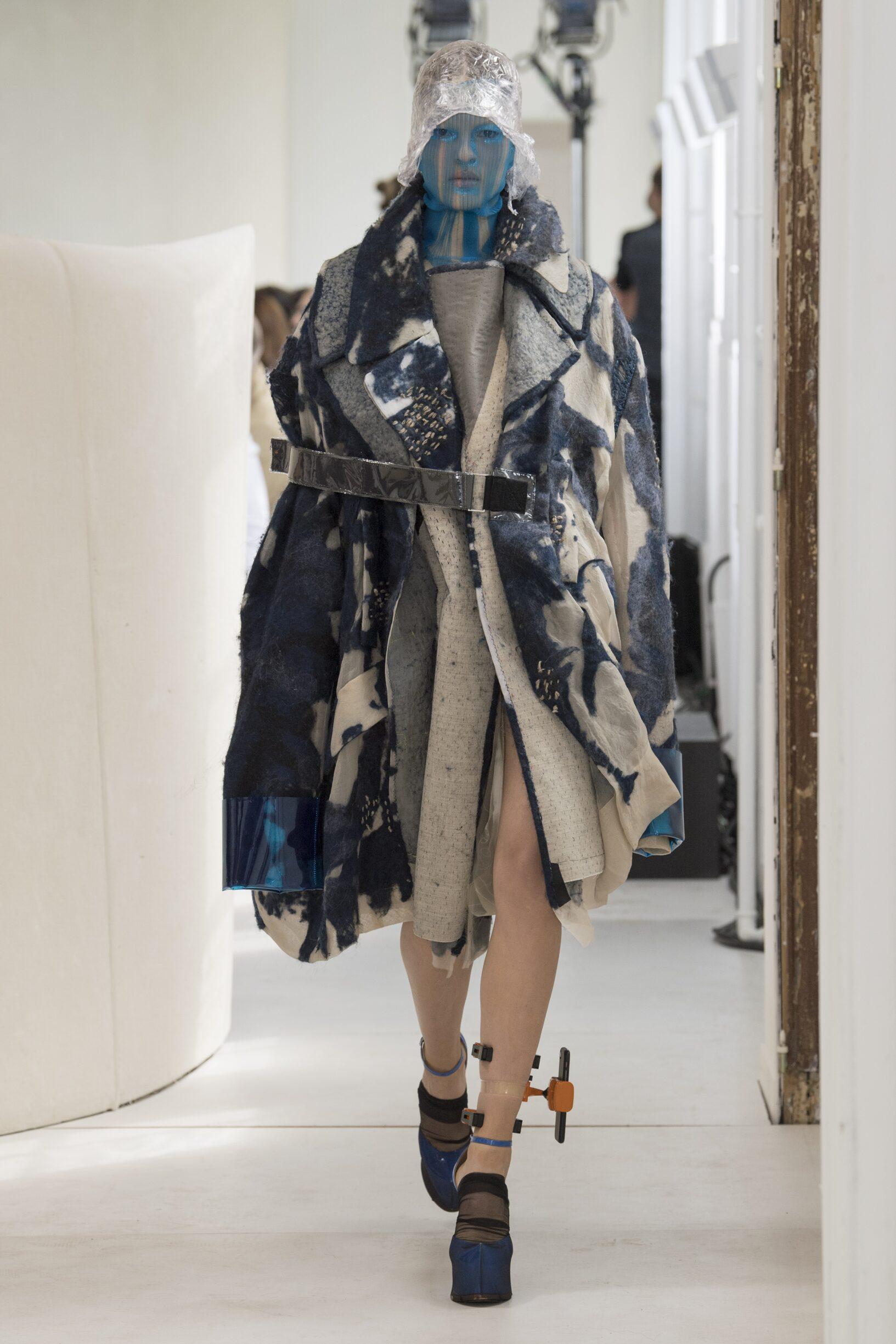 Runway Maison Margiela Artisanal Fall Winter 2018 Women's Collection Paris Fashion Week