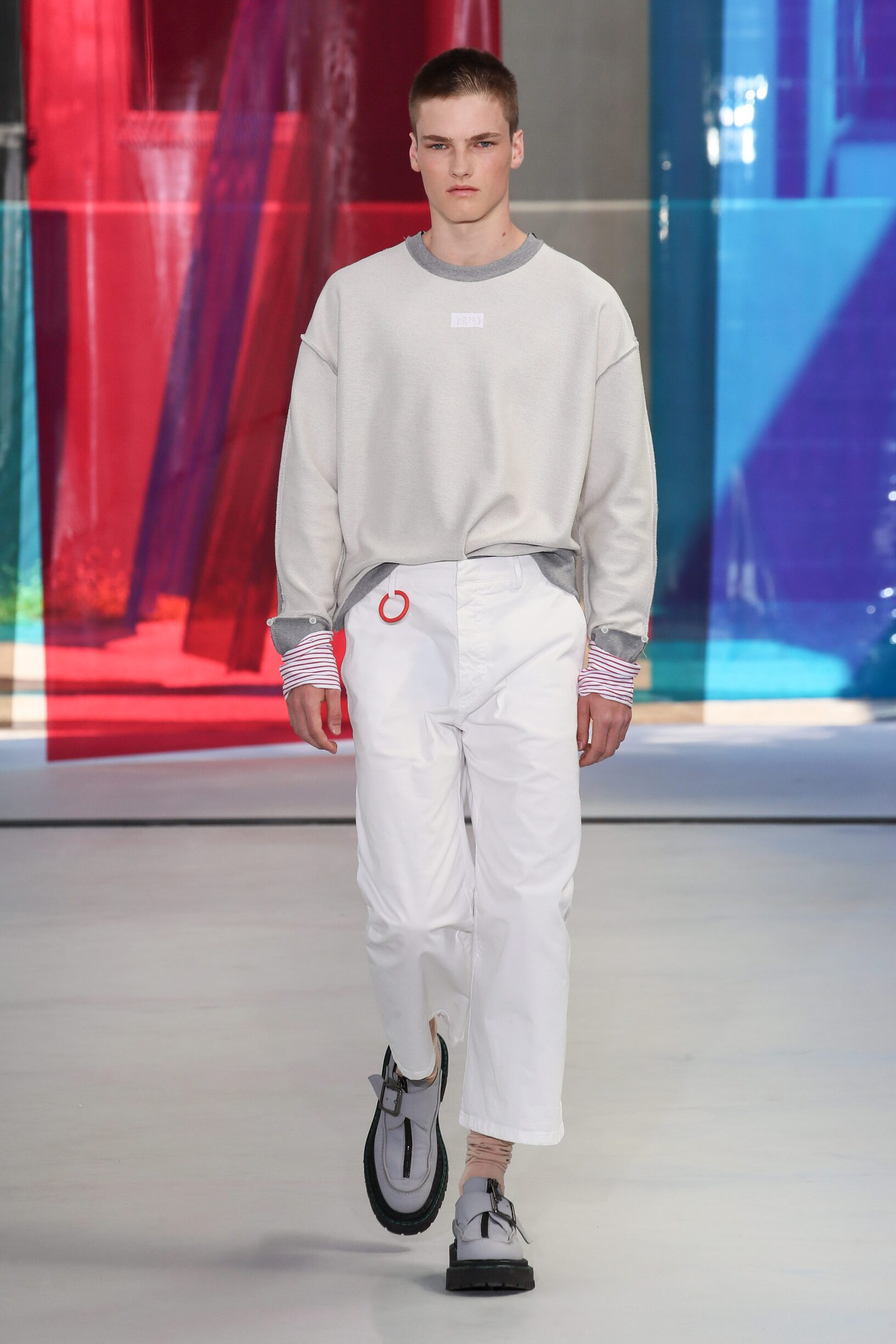 Runway N°21 Spring Summer 2019 Men's Collection Milan Fashion Week