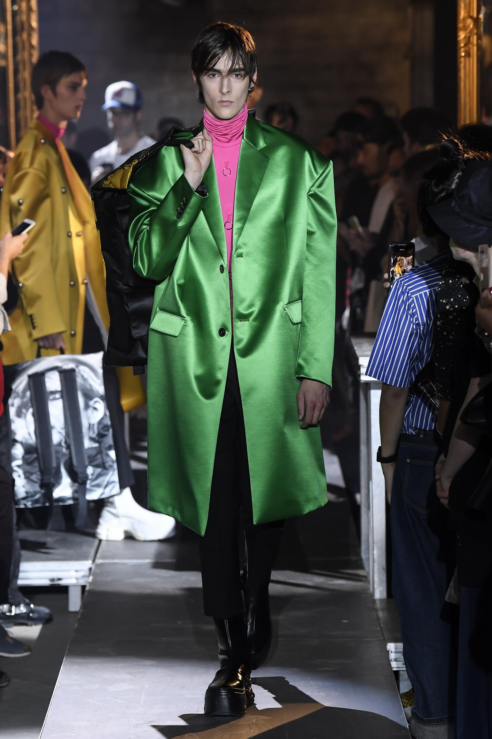 SS 2019 Fashion Show Raf Simons