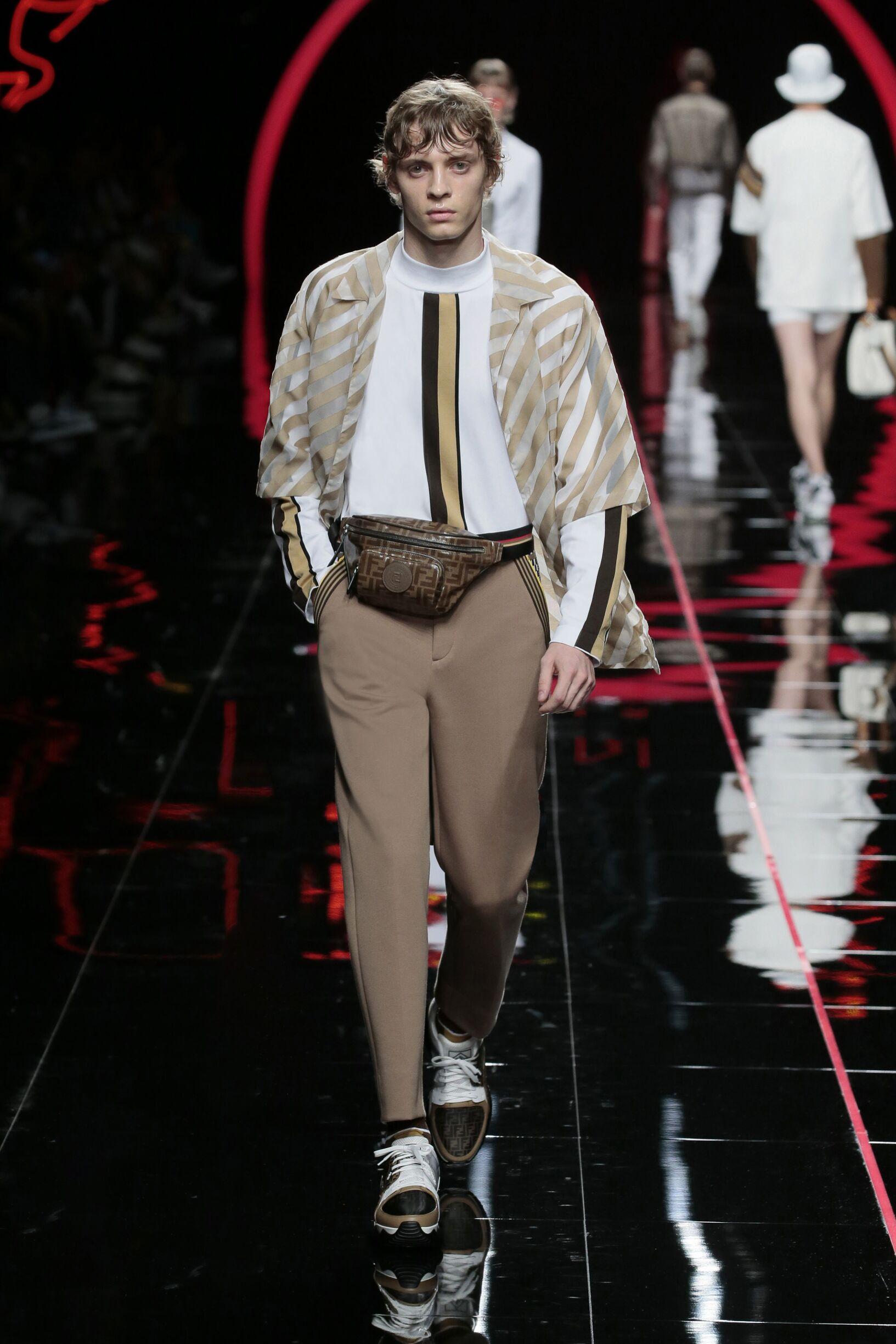 SS 2019 Fendi Fashion Show Milan Fashion Week