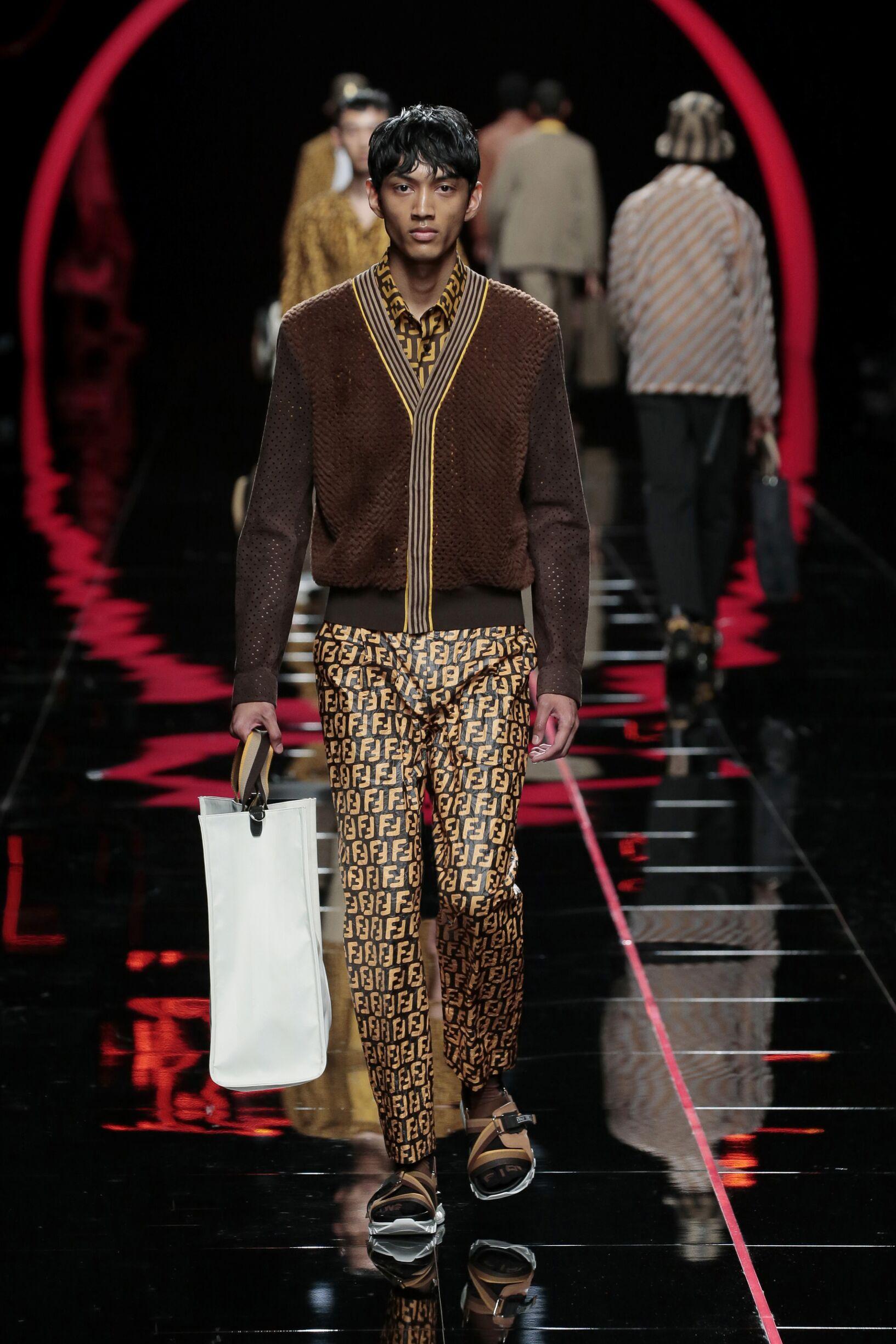 SS 2019 Fendi Fashion Show Milan
