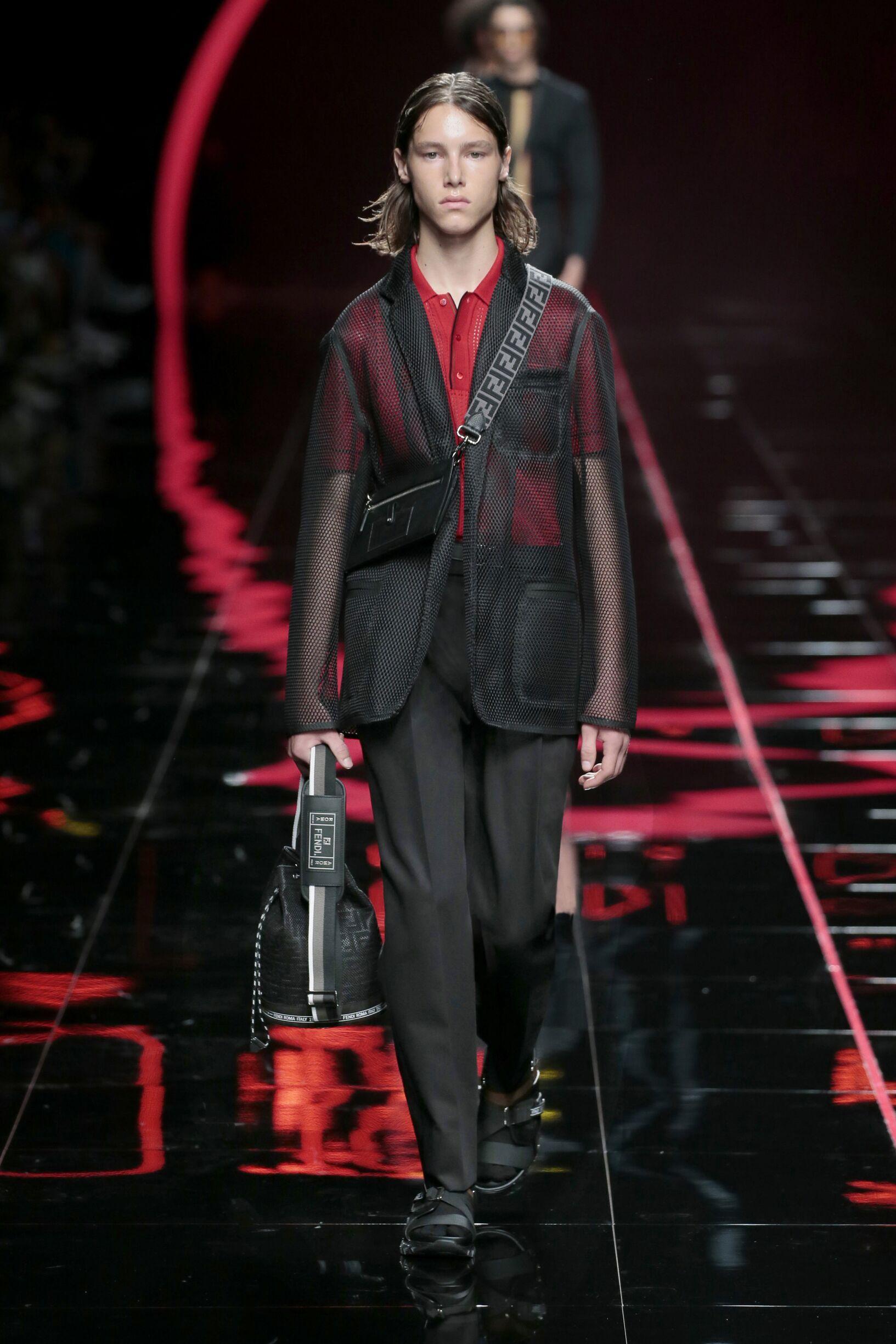 SS 2019 Fendi Fashion Show