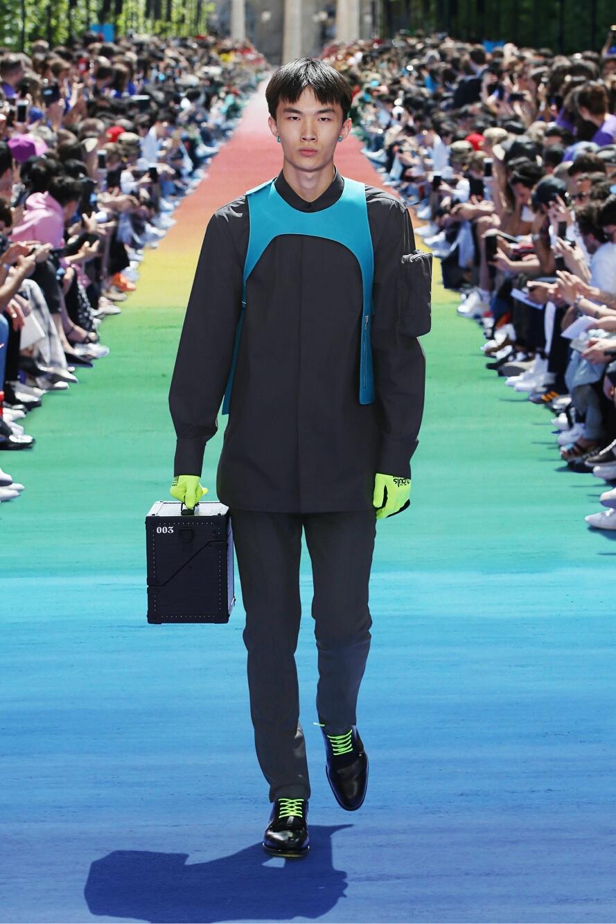 SS 2019 Louis Vuitton Fashion Show Paris