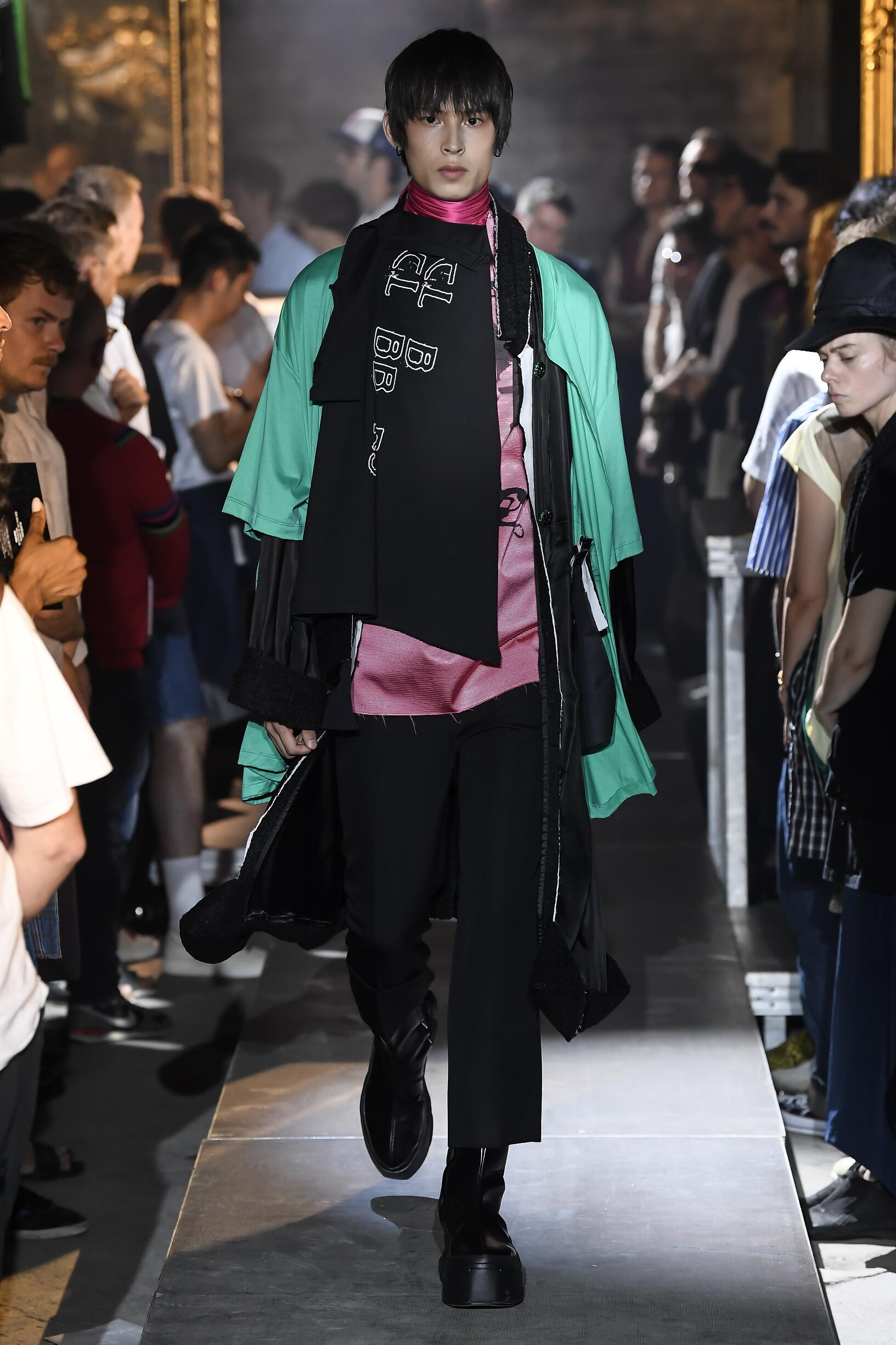 SS 2019 Raf Simons Fashion Show Paris Fashion Week