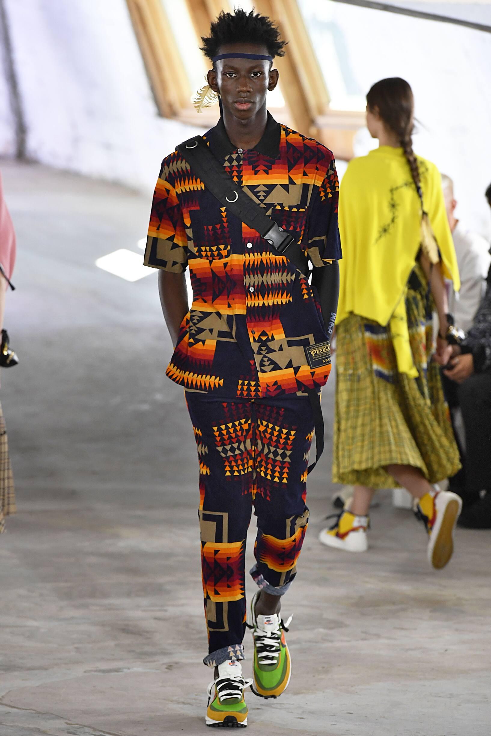 SS 2019 Sacai Fashion Show Paris Fashion Week
