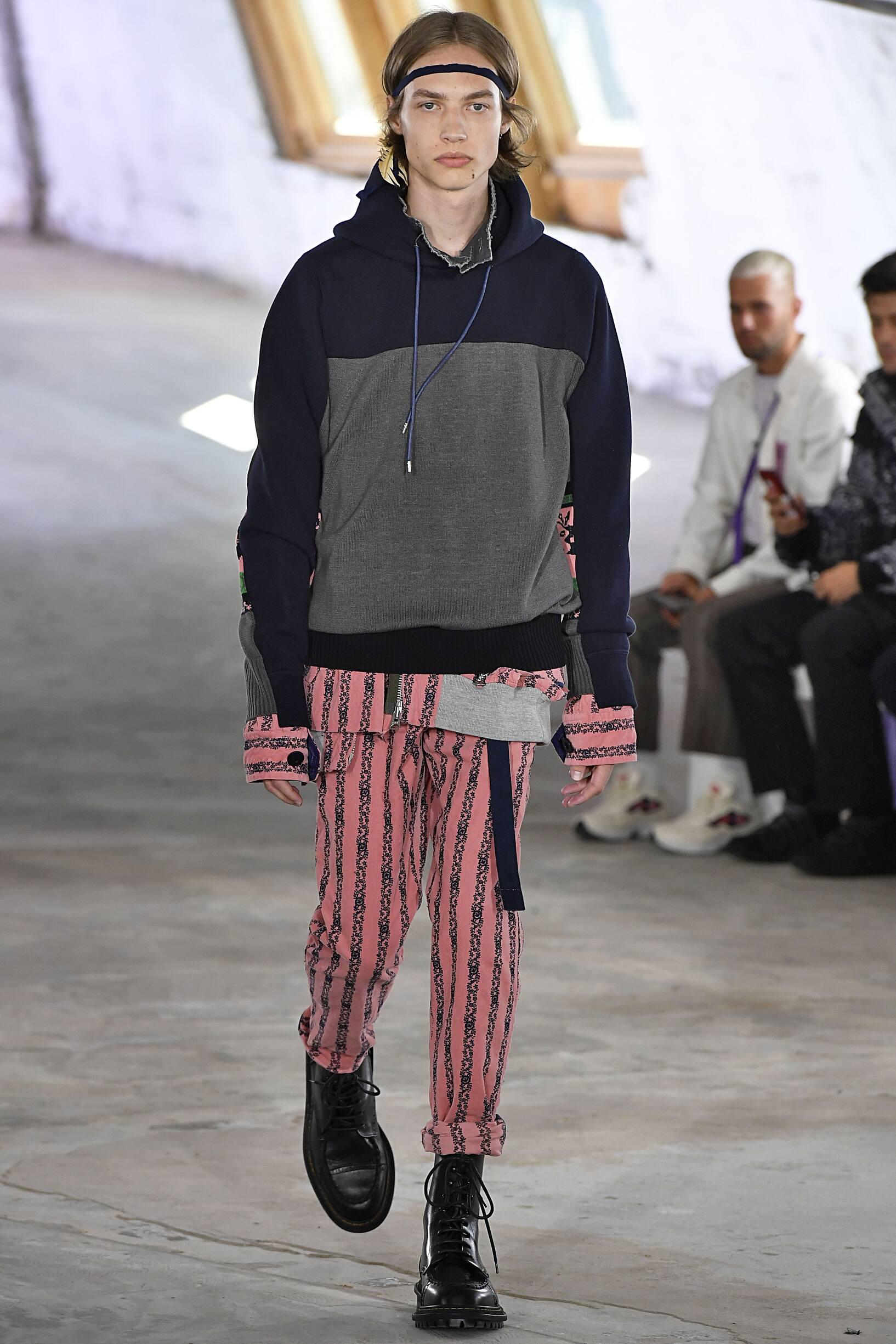 Sacai Paris Fashion Week Menswear