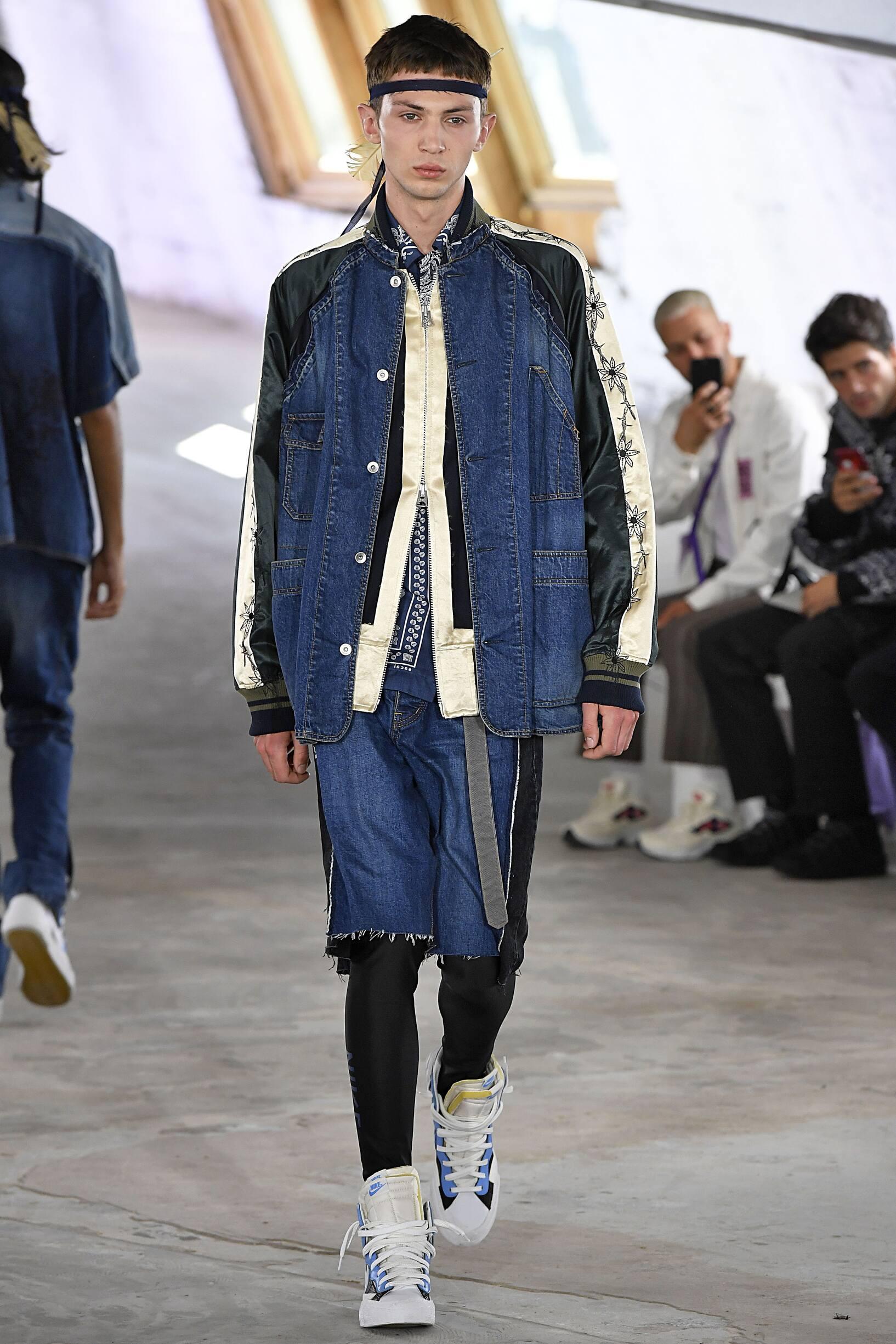 Sacai SS 2019 Menswear