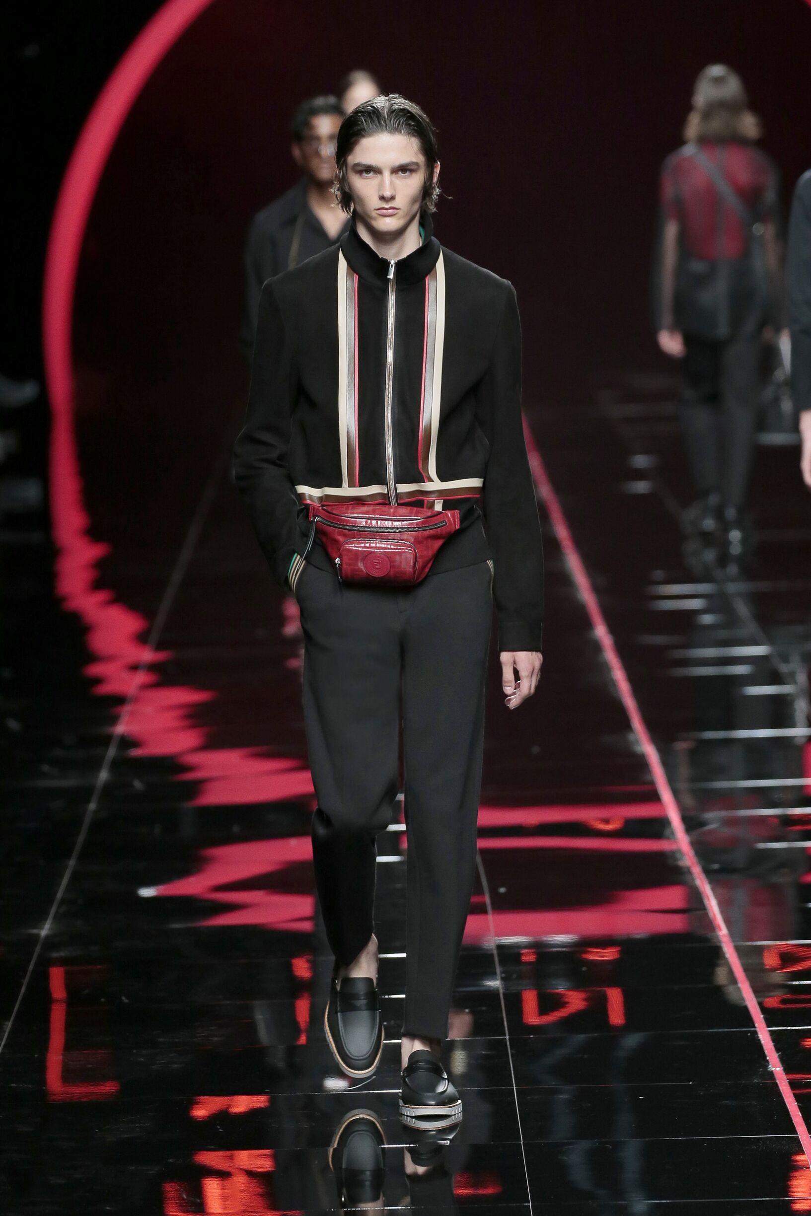 Spring 2019 Menswear Fendi