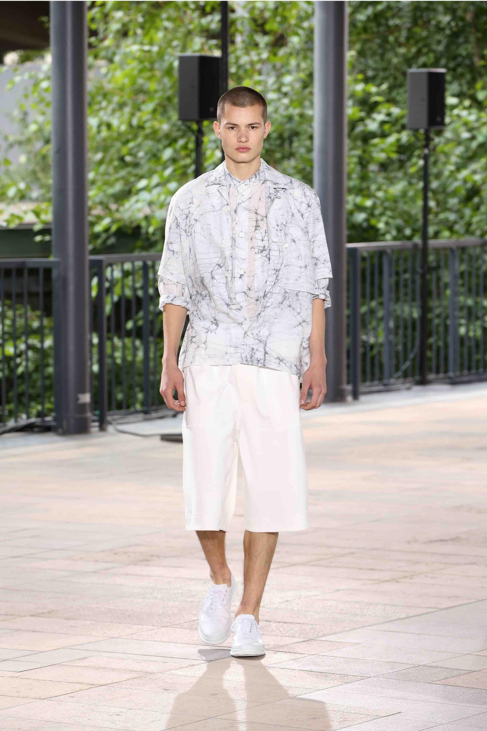 Spring 2019 Menswear Issey Miyake