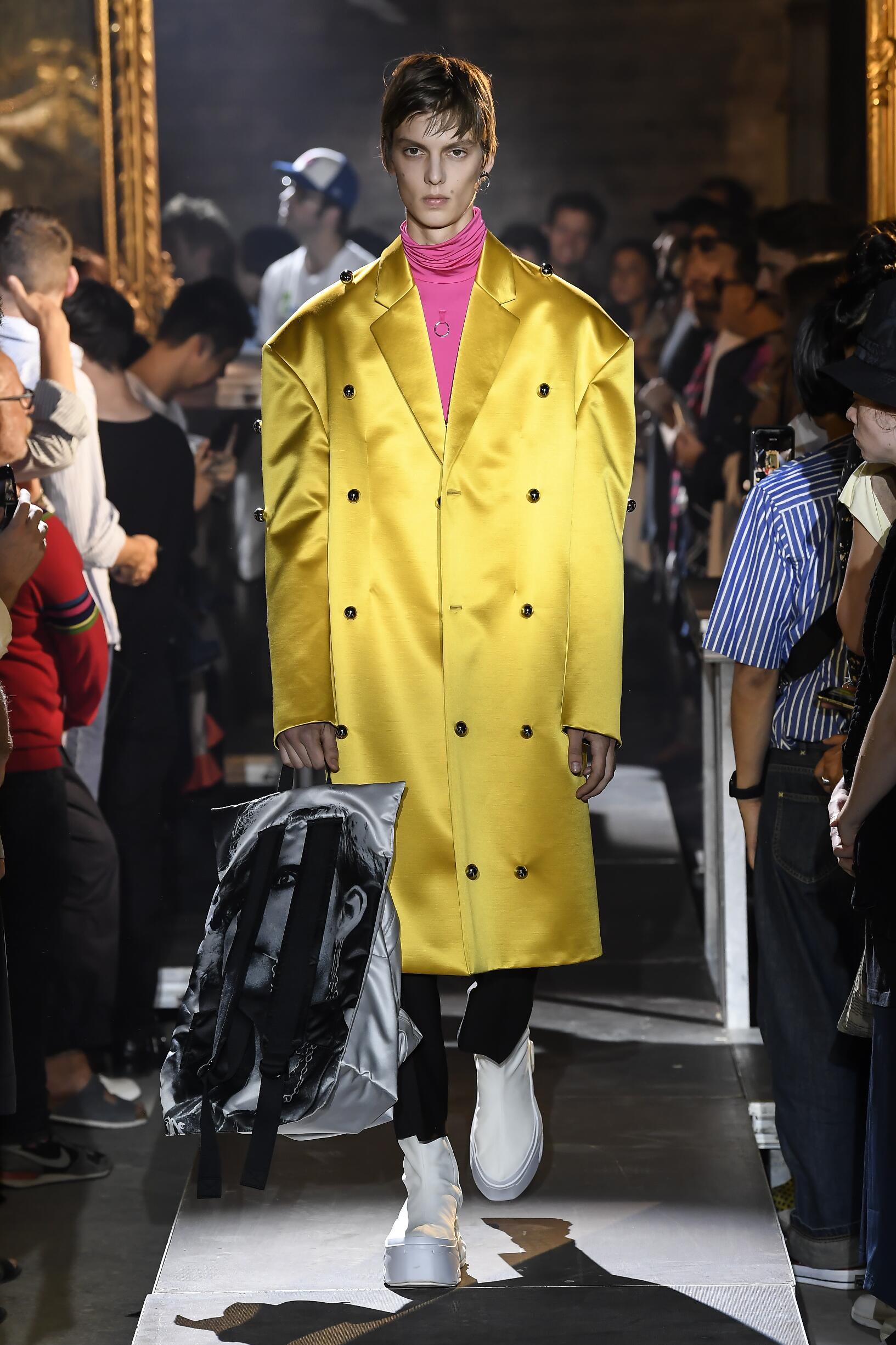 Spring 2019 Menswear Raf Simons