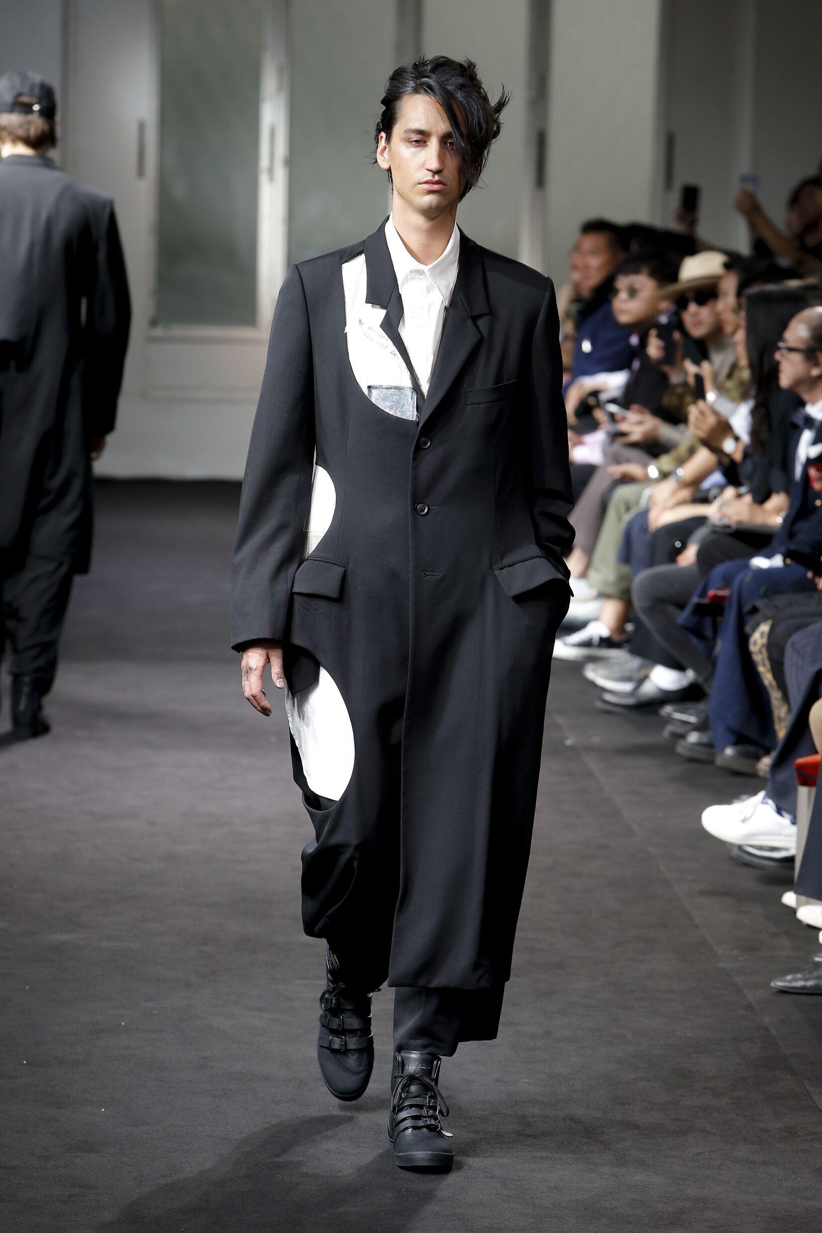 Spring 2019 Menswear Yohji Yamamoto