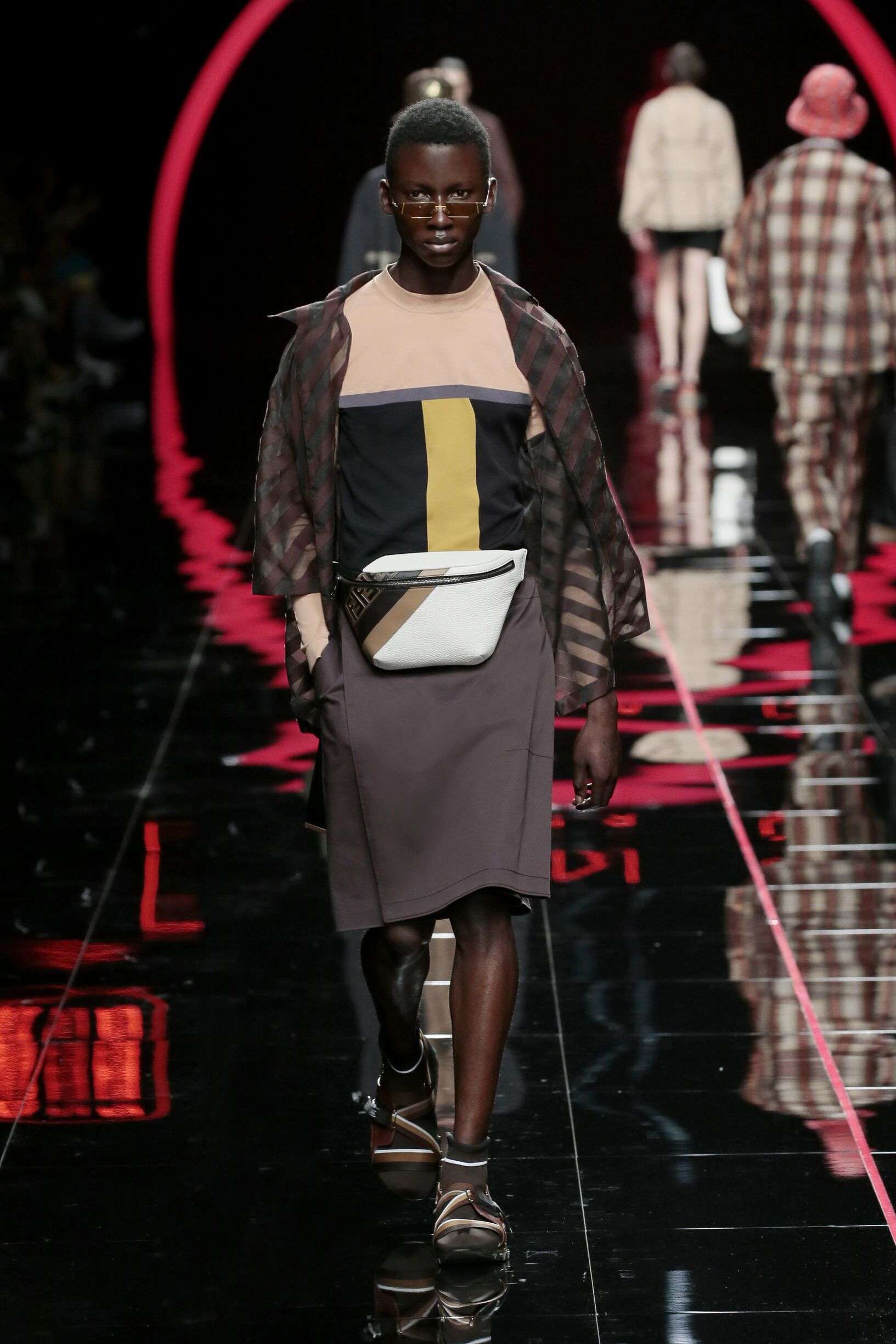 Spring Summer 2019 Man Milan Fendi Collection