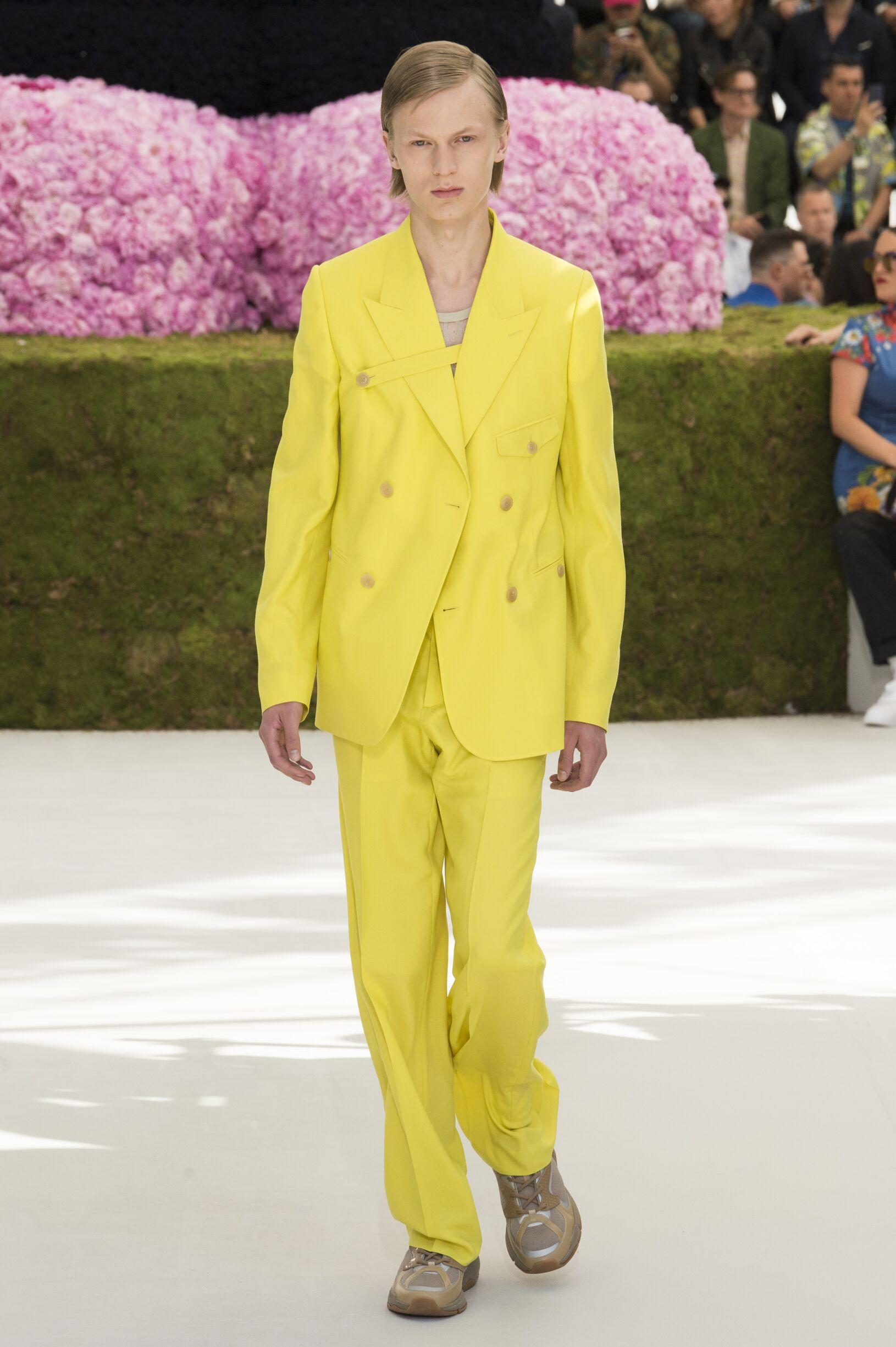 Spring Summer 2019 Man Paris Dior Collection
