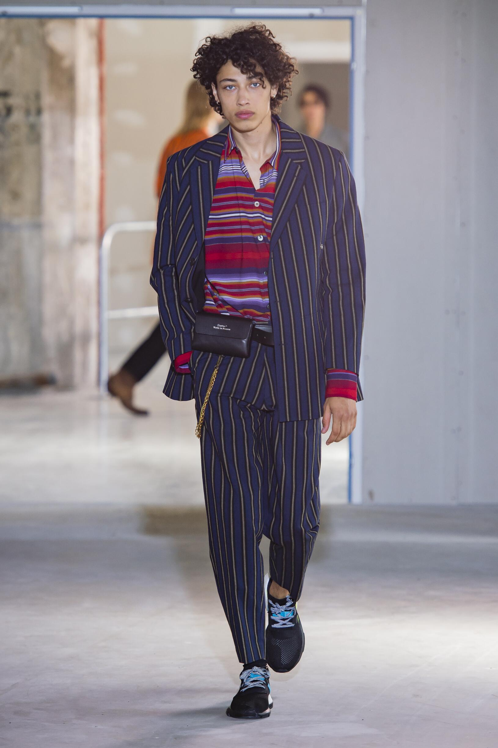 Spring Summer 2019 Man Paris Études Collection