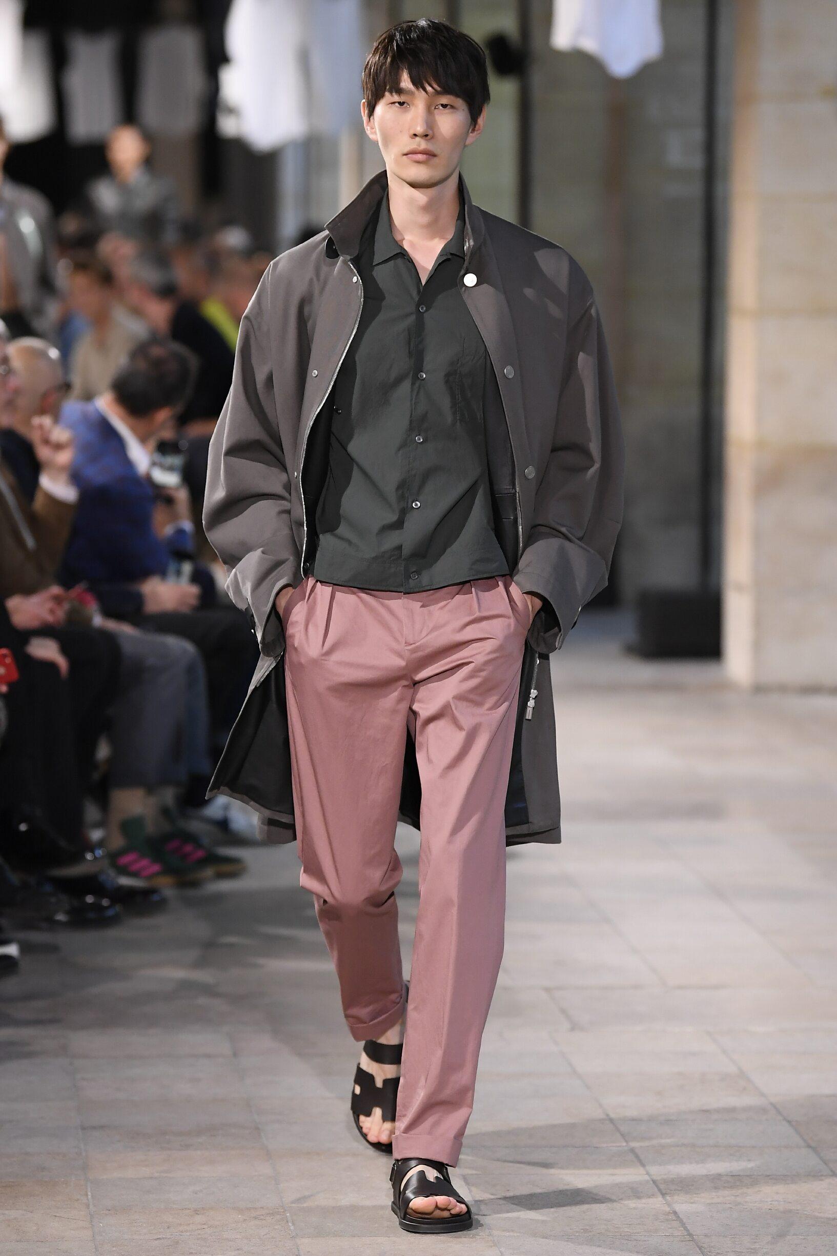 Spring Summer 2019 Man Paris Hermès Collection