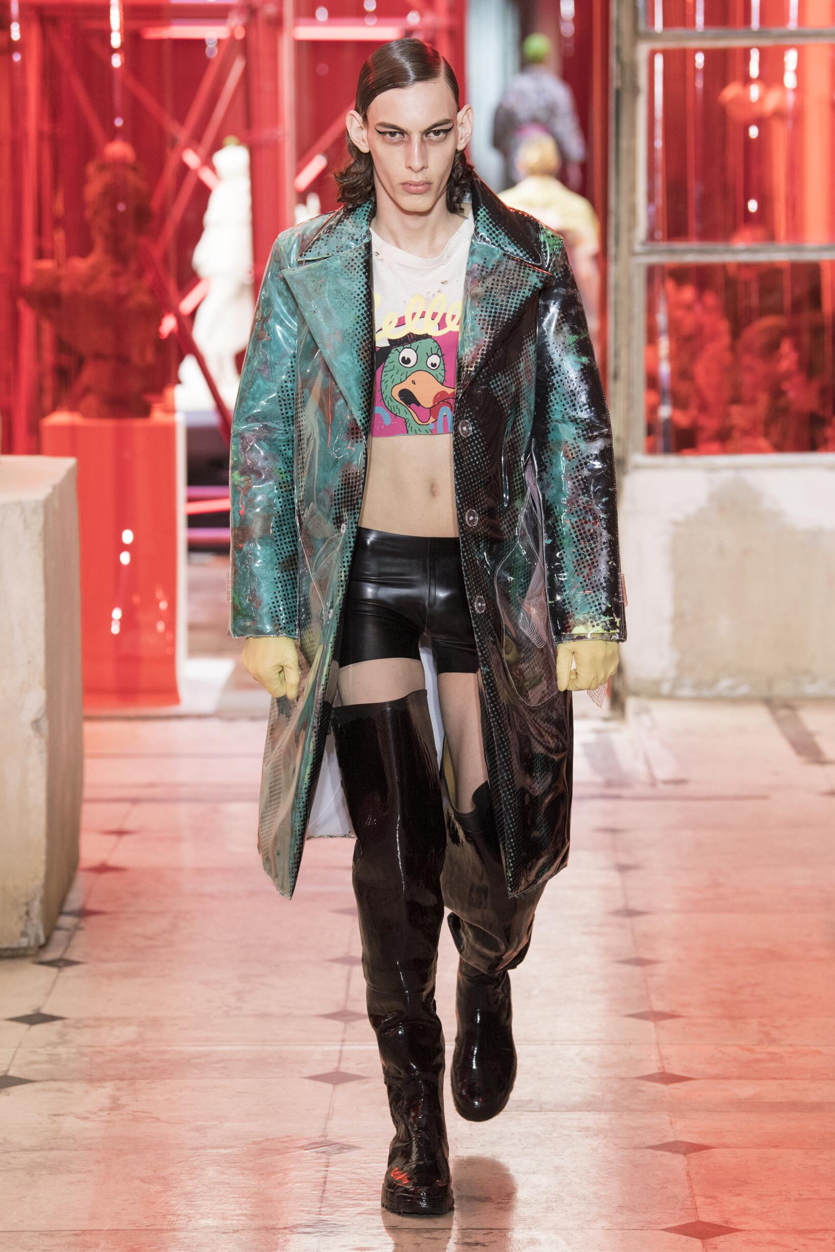 What Is Leather Made Of >> MAISON MARGIELA SPRING SUMMER 2019 MEN'S COLLECTION | The ...