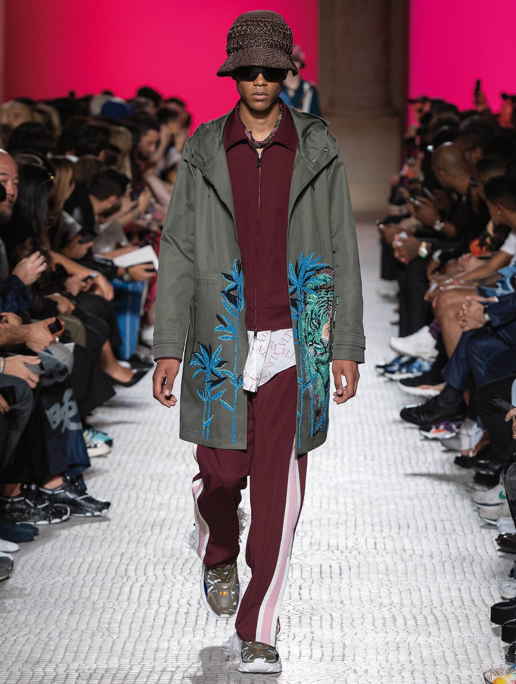 Spring Summer 2019 Man Paris Valentino Collection