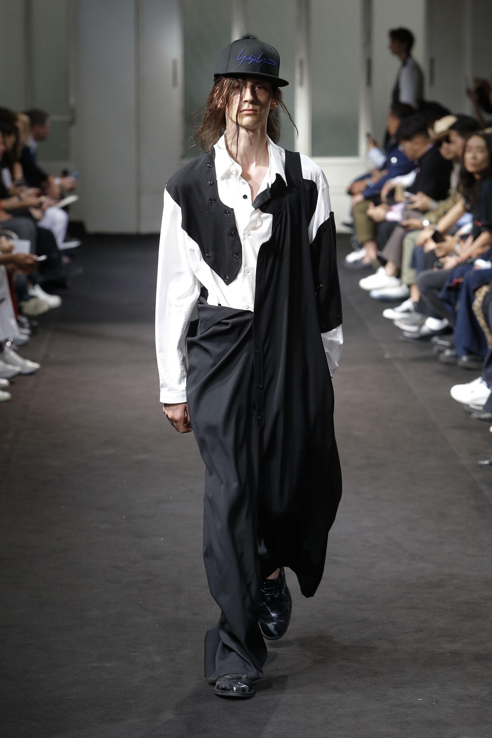 Summer 2019 Man Trends Yohji Yamamoto