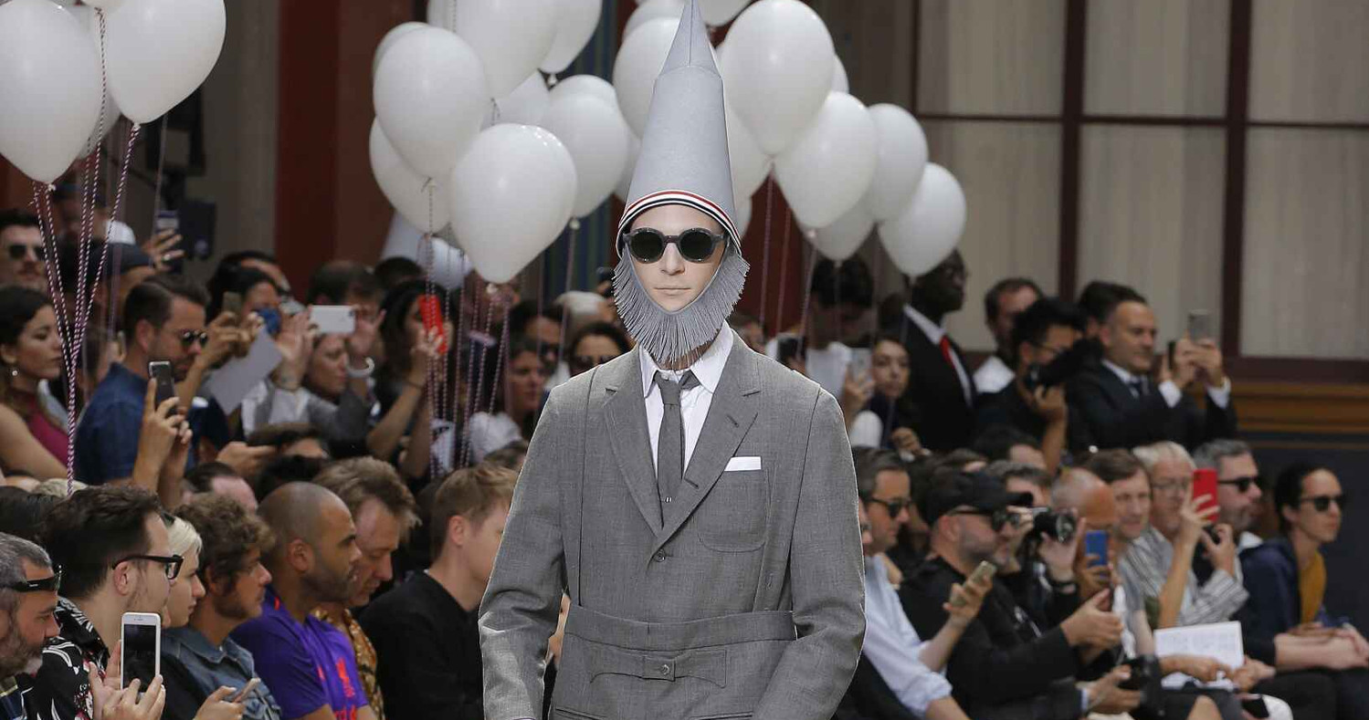 Thom Browne Fashion Show SS 2019 Paris