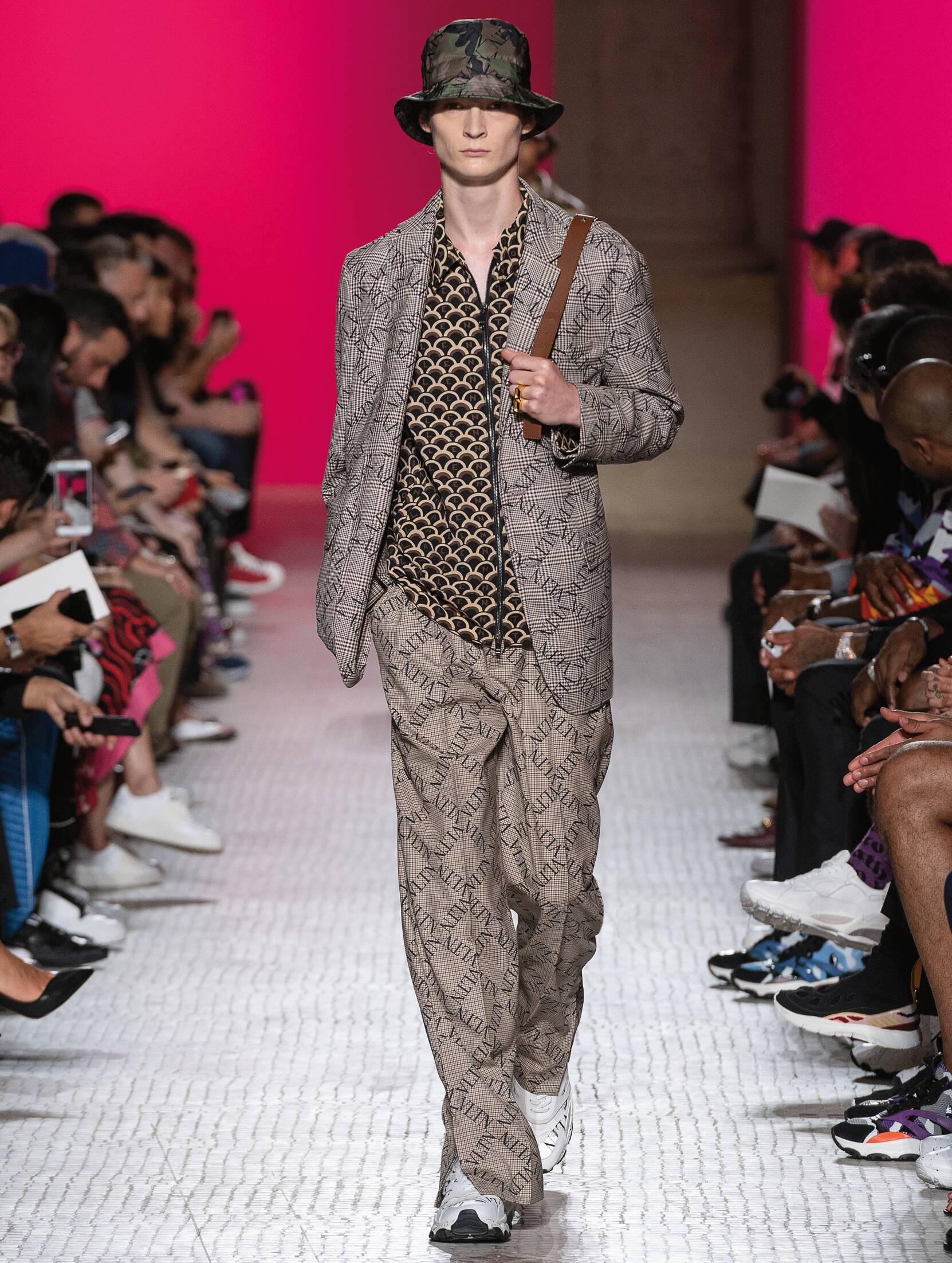 Valentino Menswear Collection Trends