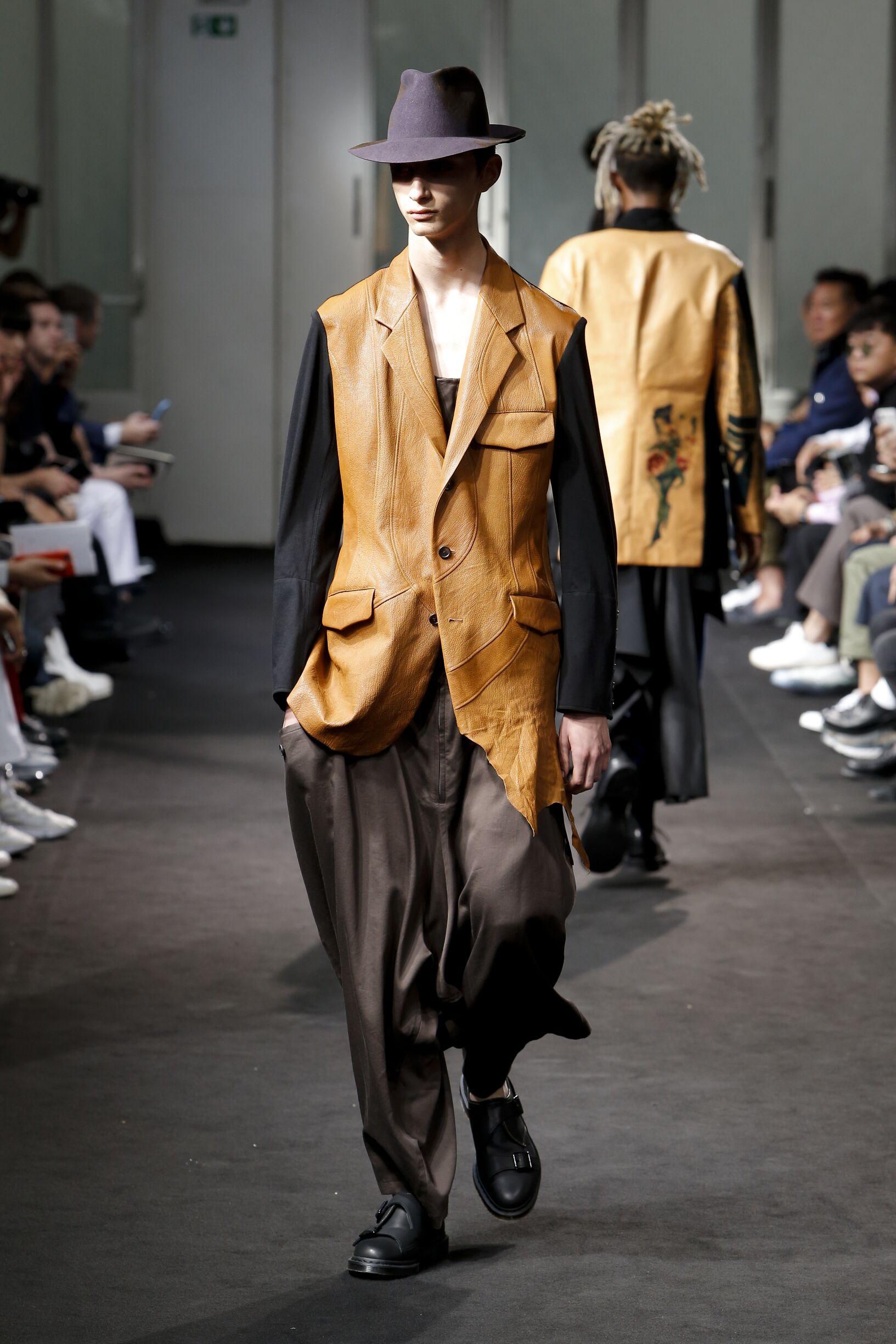 Yohji Yamamoto Paris Fashion Week Menswear
