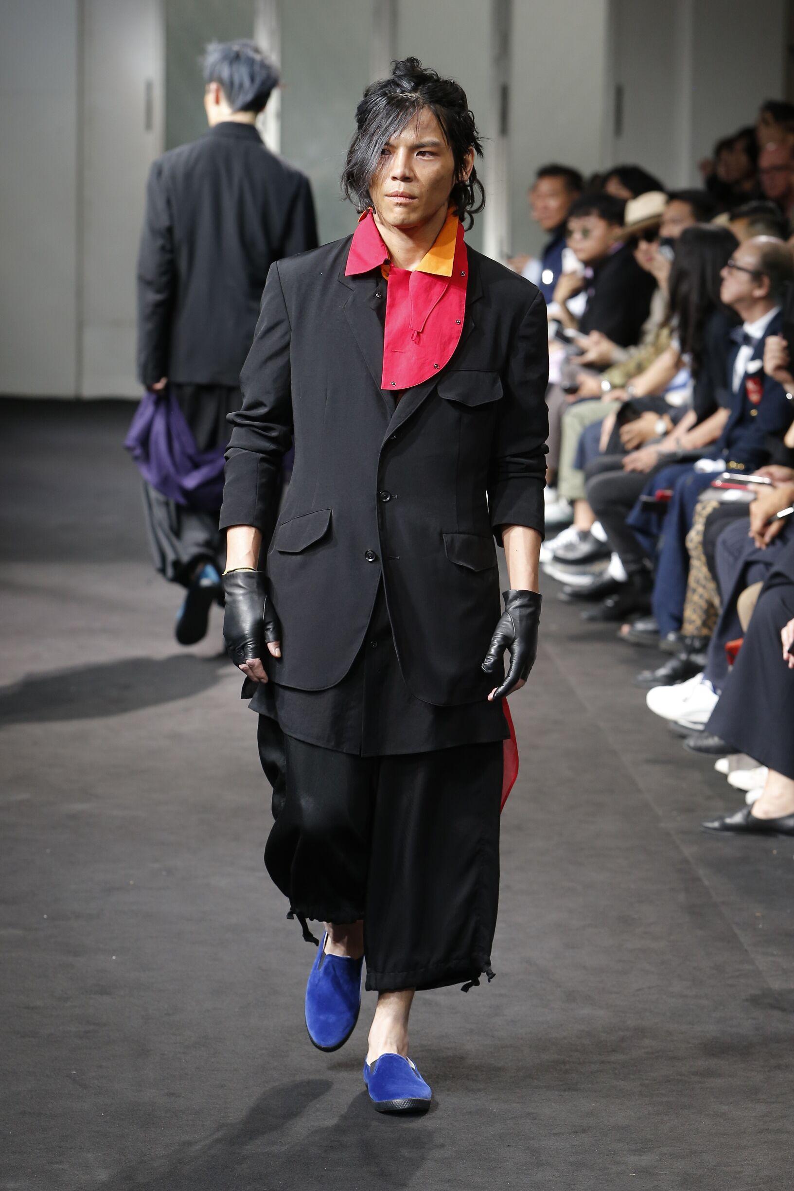 Yohji Yamamoto SS 2019 Menswear