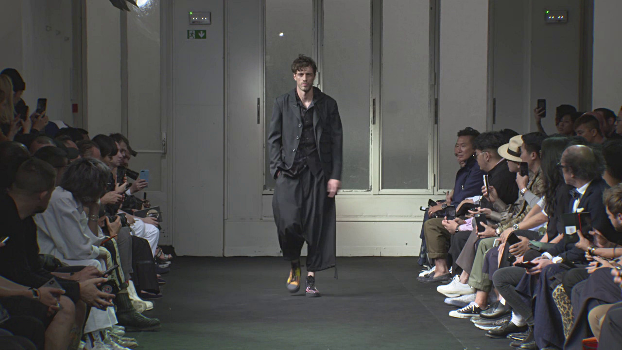 Yohji Yamamoto Spring Summer Men' Collection 2019 - Paris Fashion Show