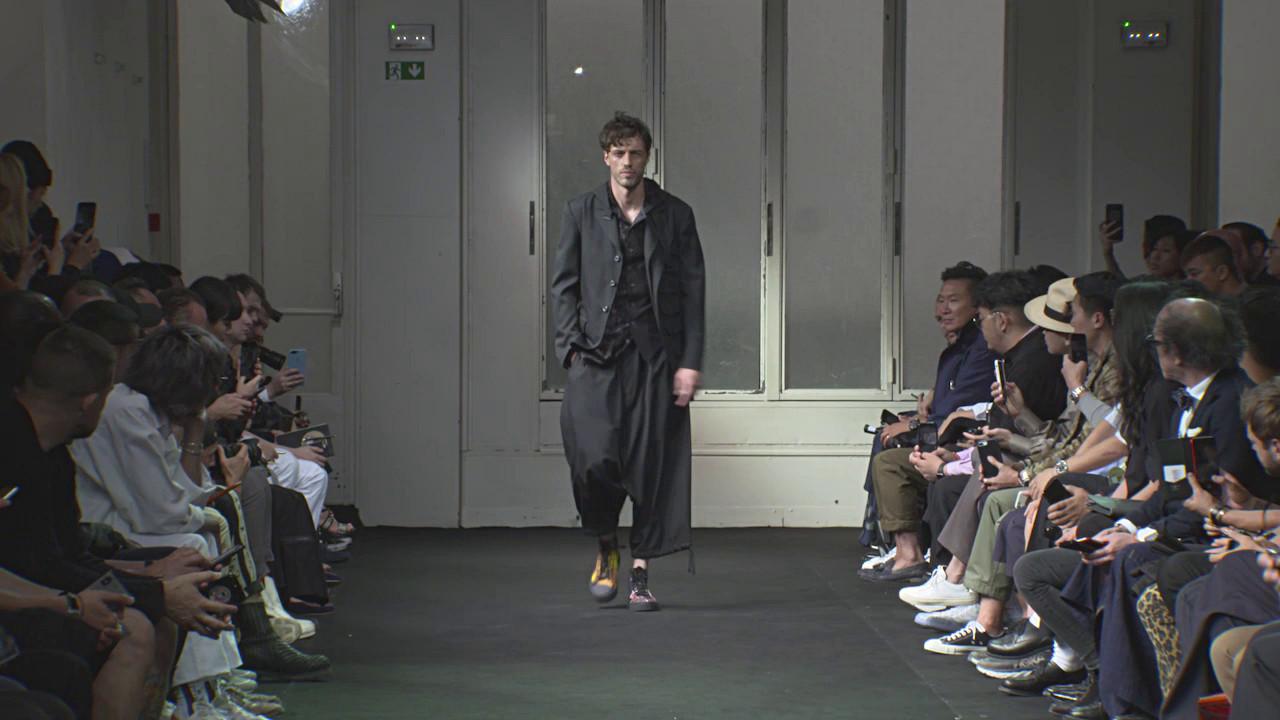 Yohji Yamamoto Spring Summer Men' Collection 2019 - Paris Fashion Show