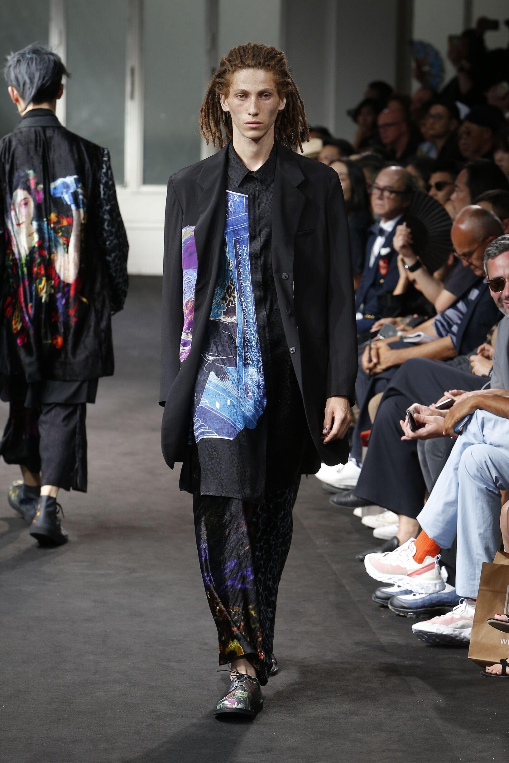 Yohji Yamamoto Summer 2019 Catwalk
