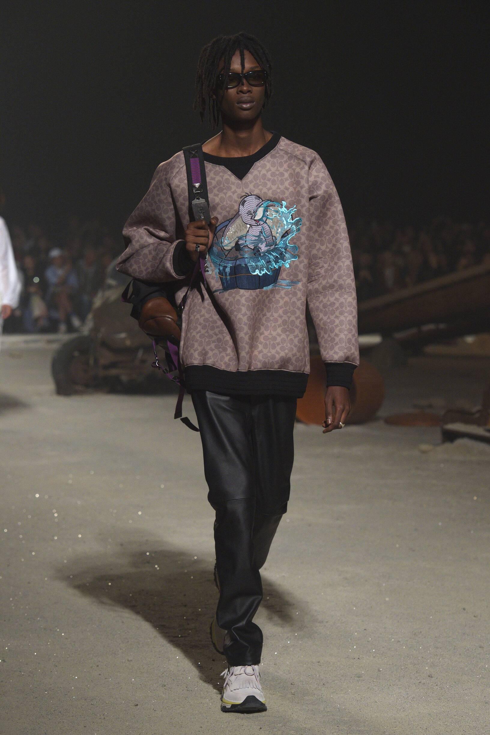 Fashion 2019 Catwalk Coach Summer Man Collection