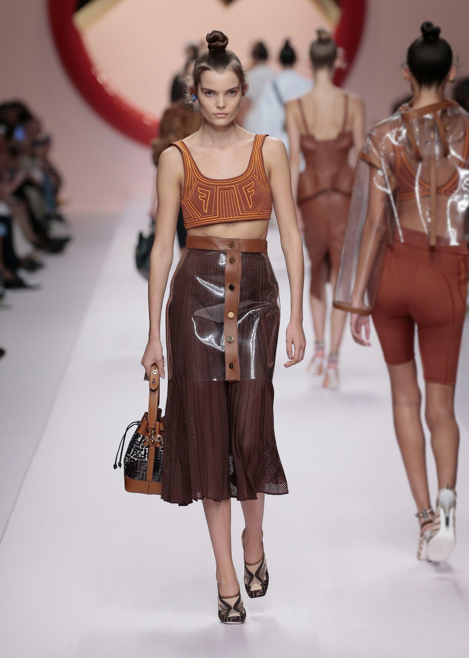Fendi Spring Summer 2019 Womens Collection Milan Fashion Week