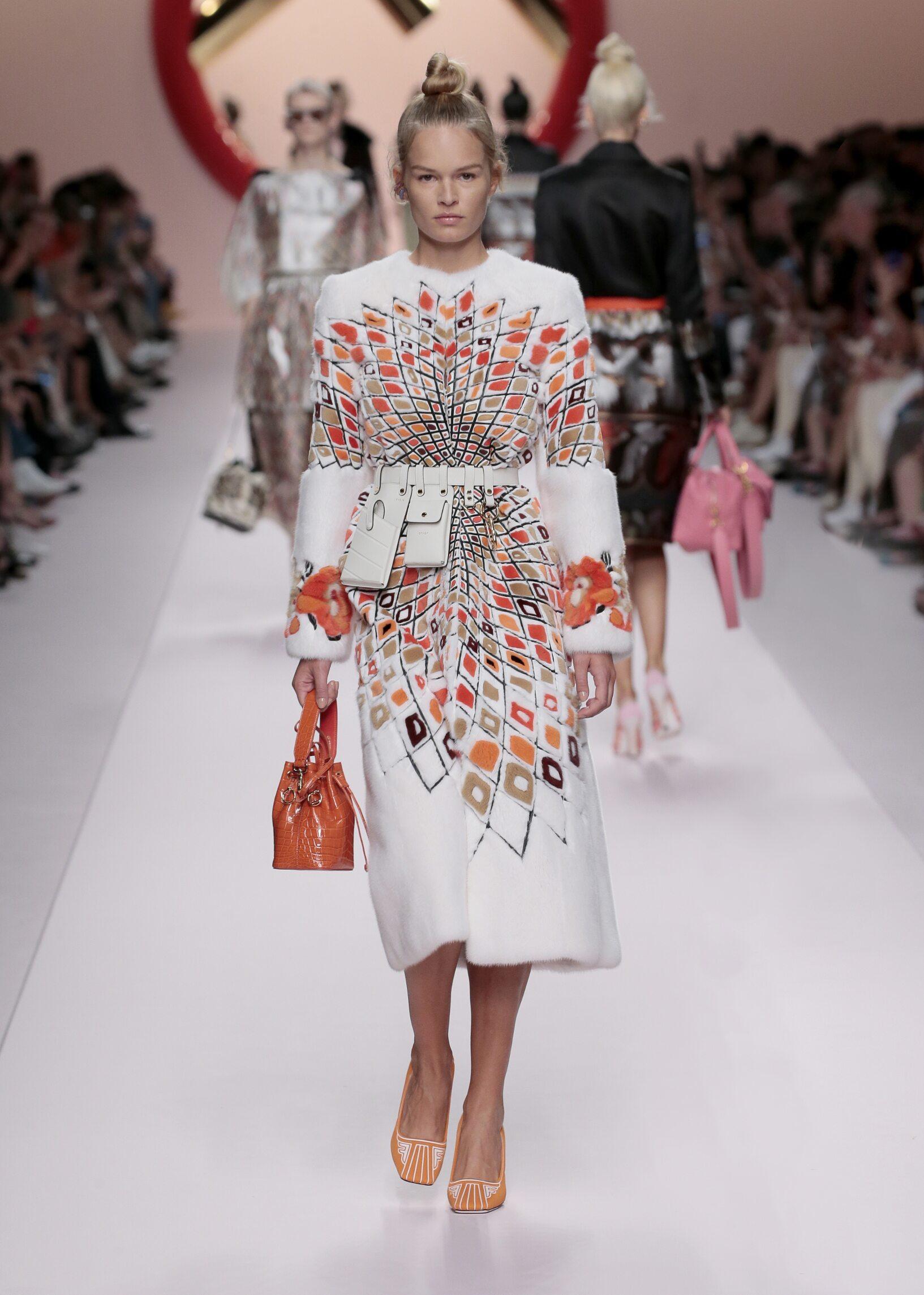 Fendi Womenswear Collection Trends