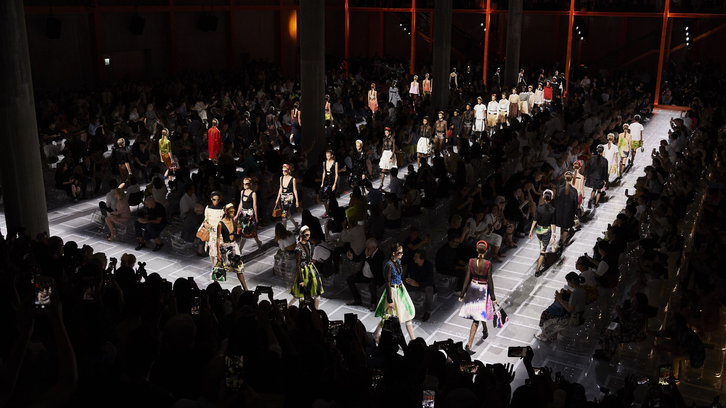 Finale Prada Spring Summer 2019 Women's Collection Milan Fashion Week