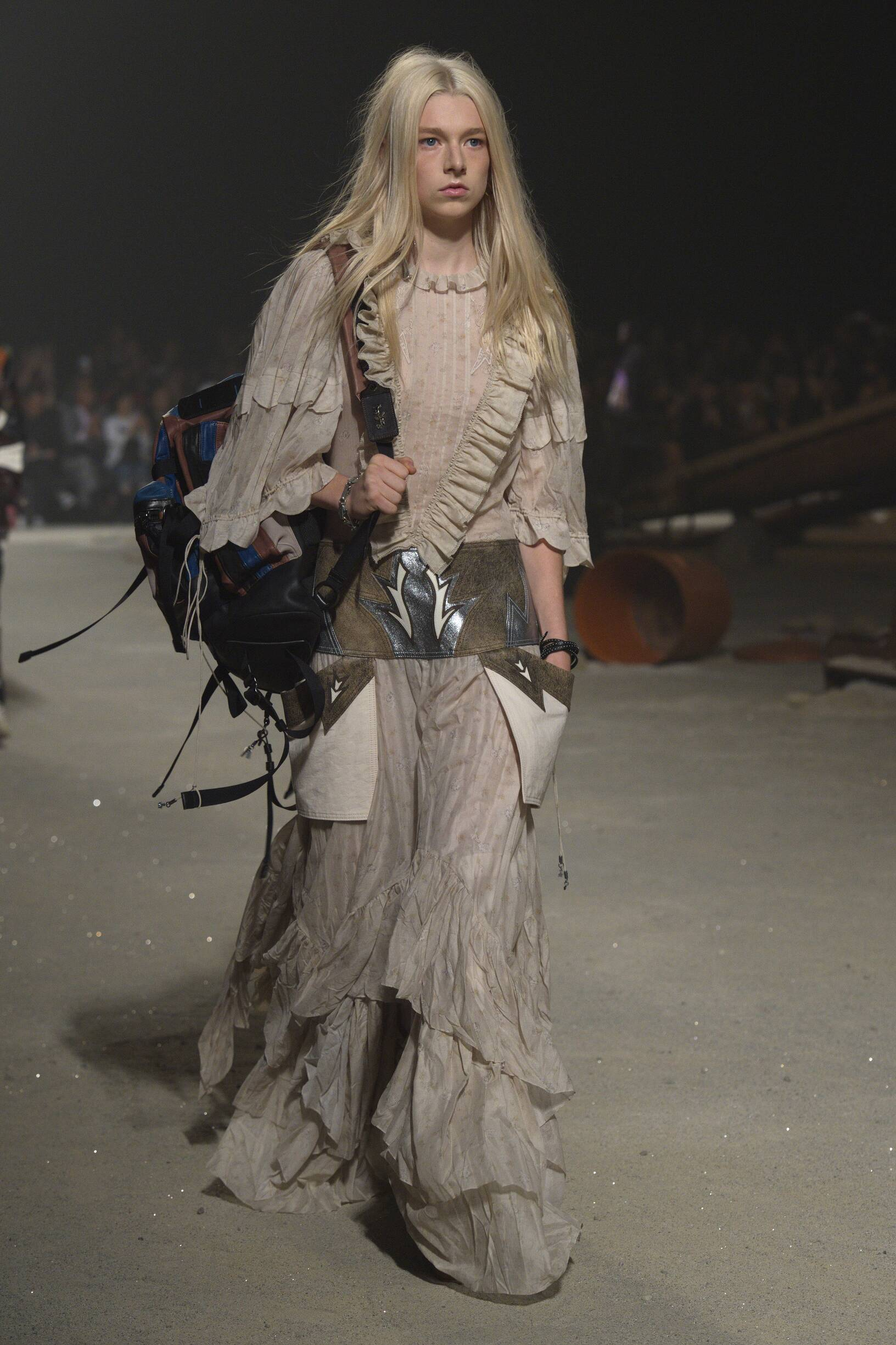 Model Fashion Show Coach