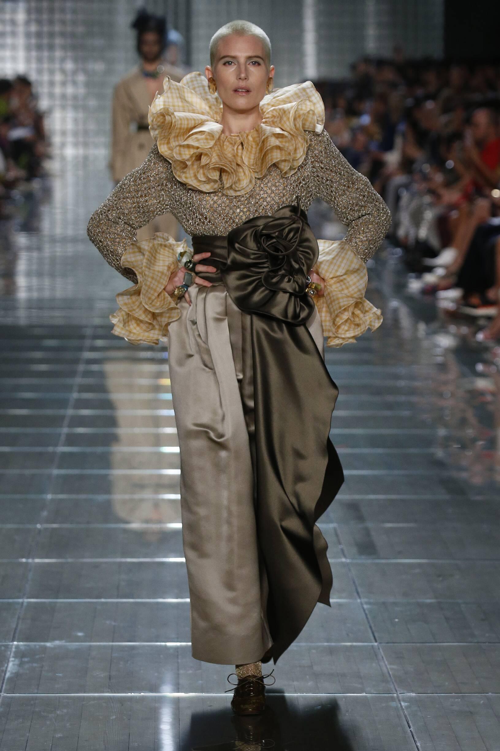 Model Fashion Show Marc Jacobs