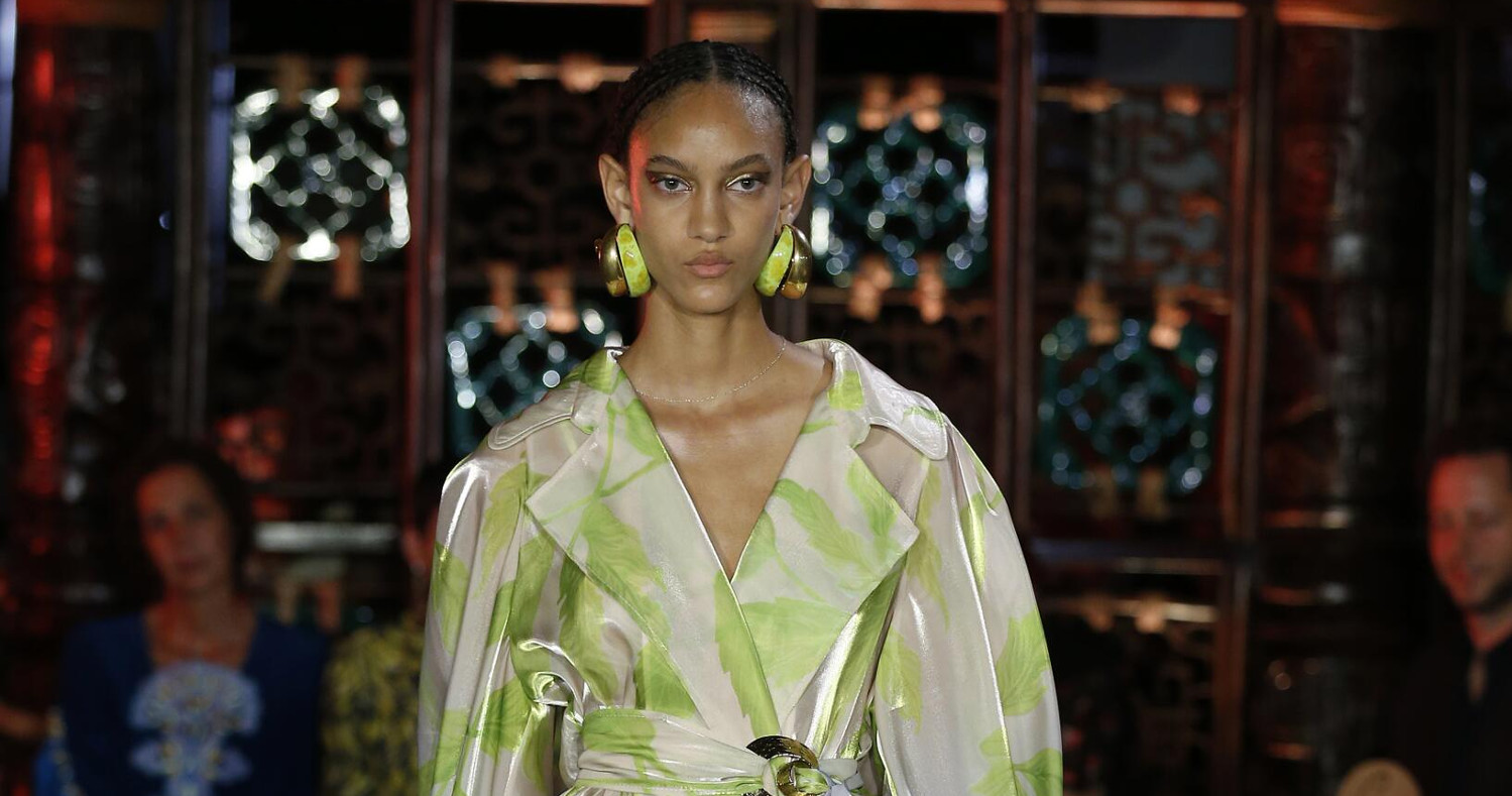 Peter Pilotto Fashion Show SS 2019 London