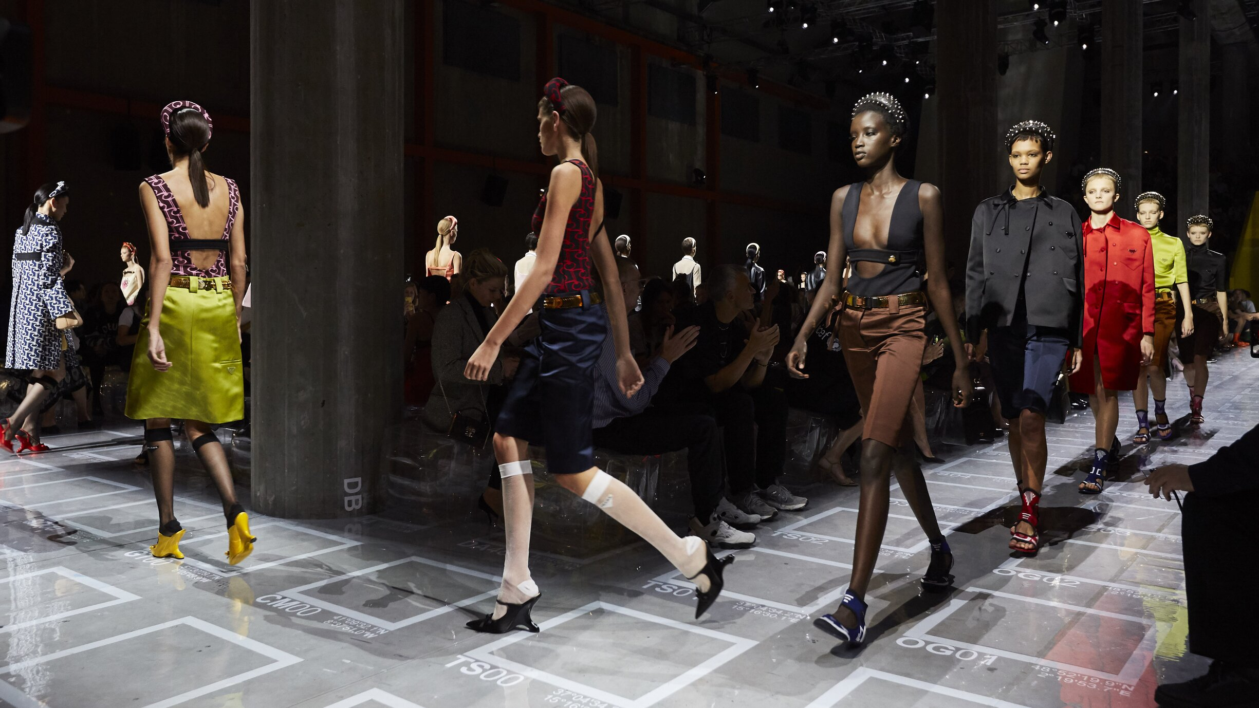 Prada Finale Milan Fashion Week