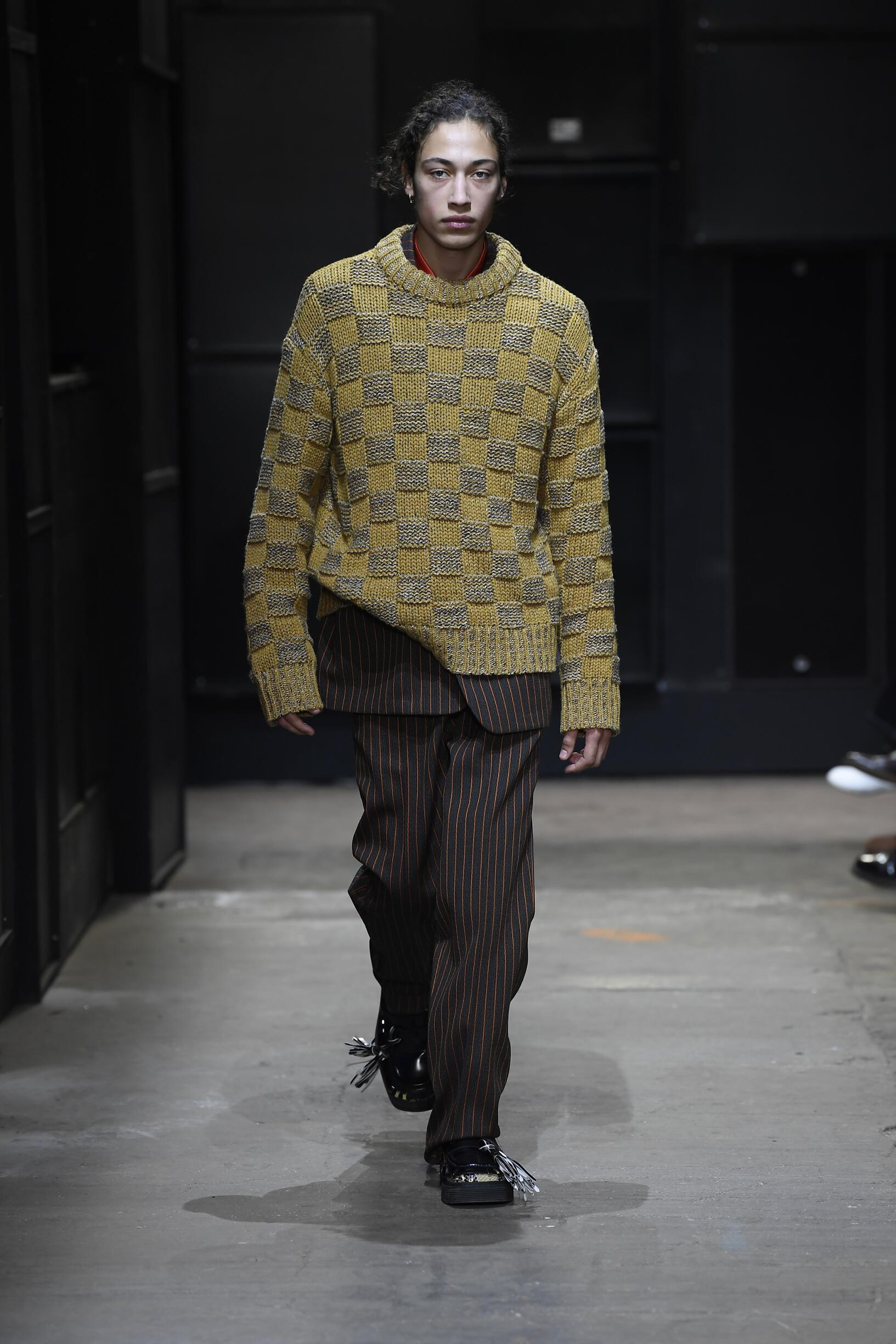 2019 Catwalk Marni Man Fashion Show Winter