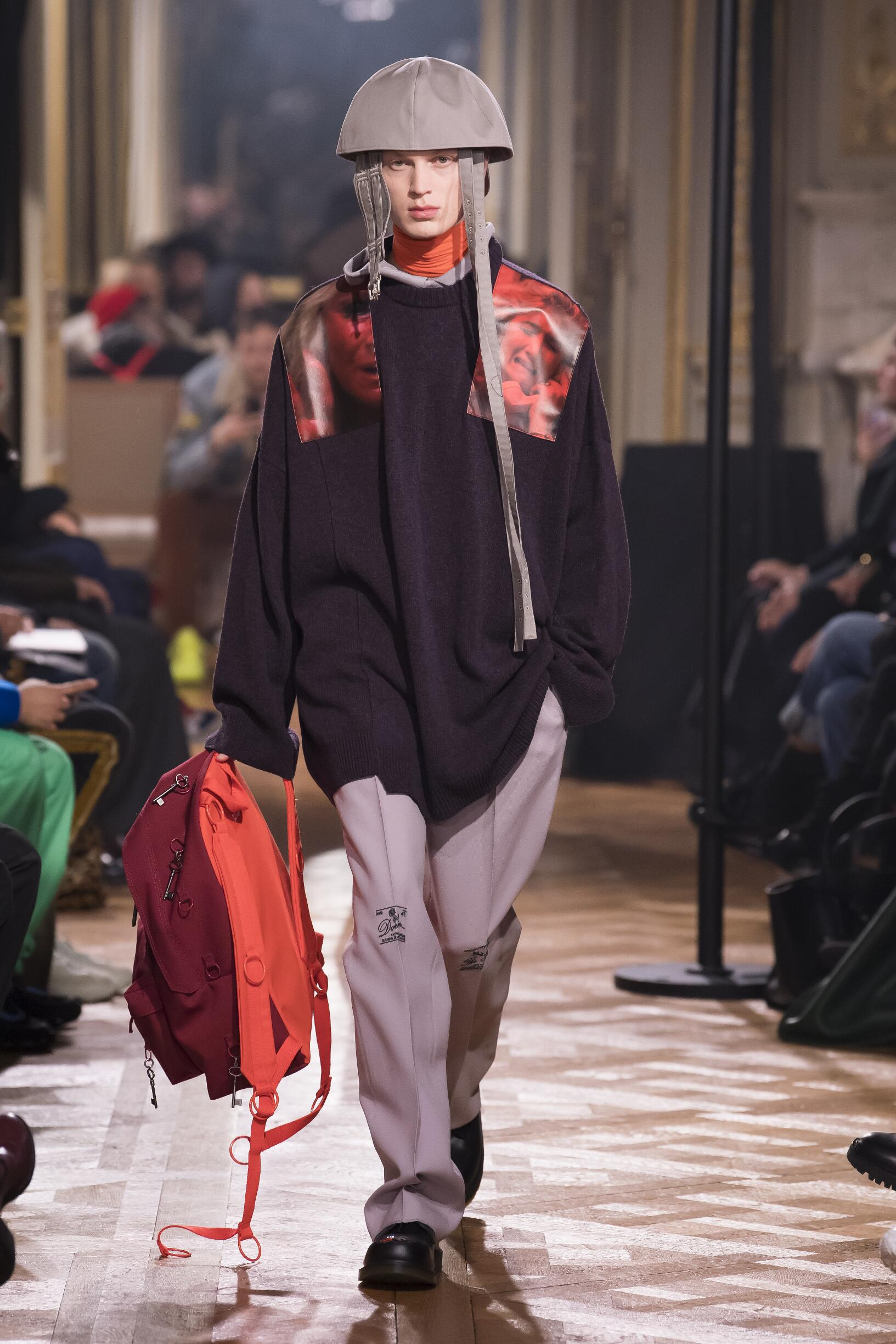 2019 Catwalk Raf Simons Man Fashion Show Winter