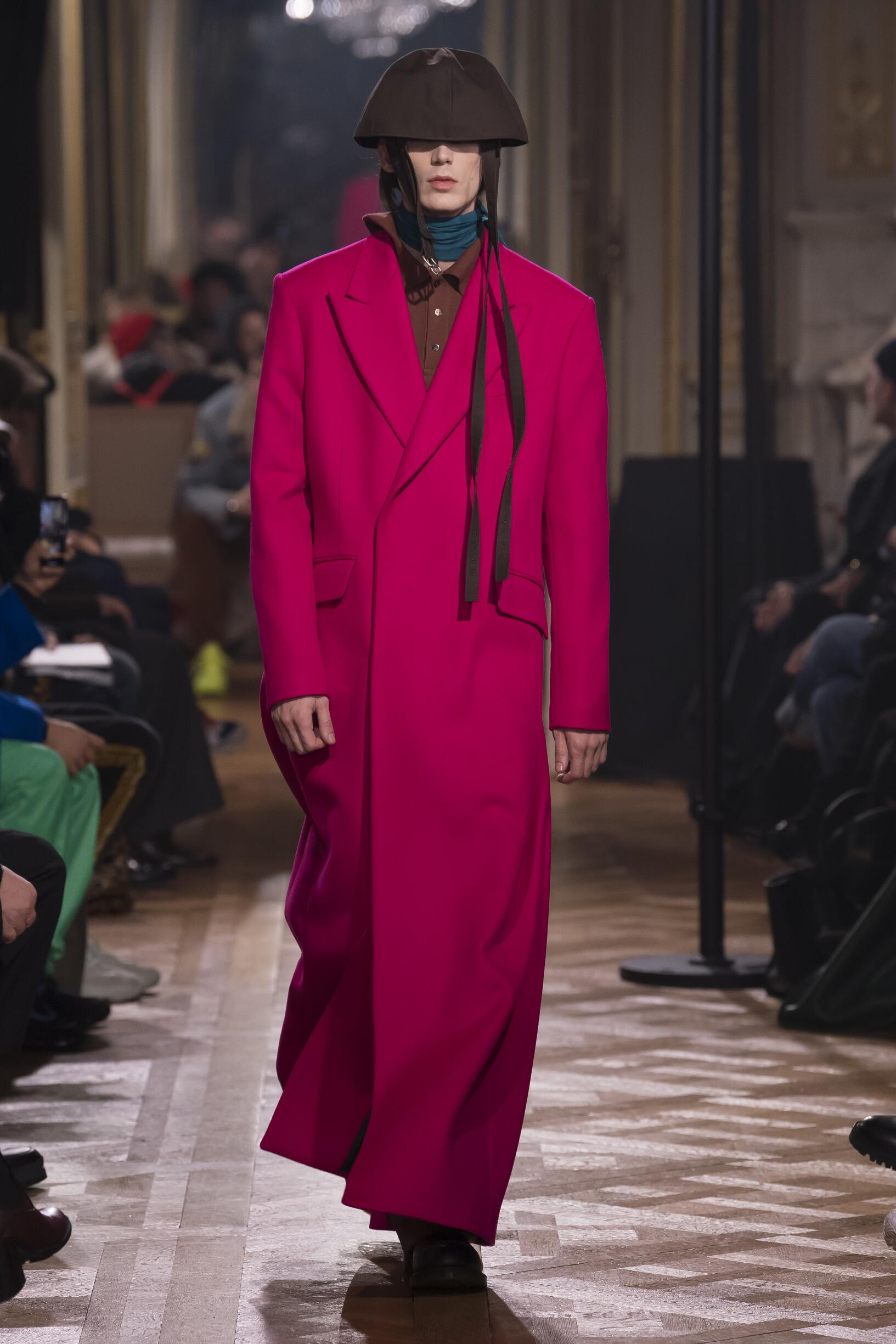 2019 Catwalk Raf Simons Winter