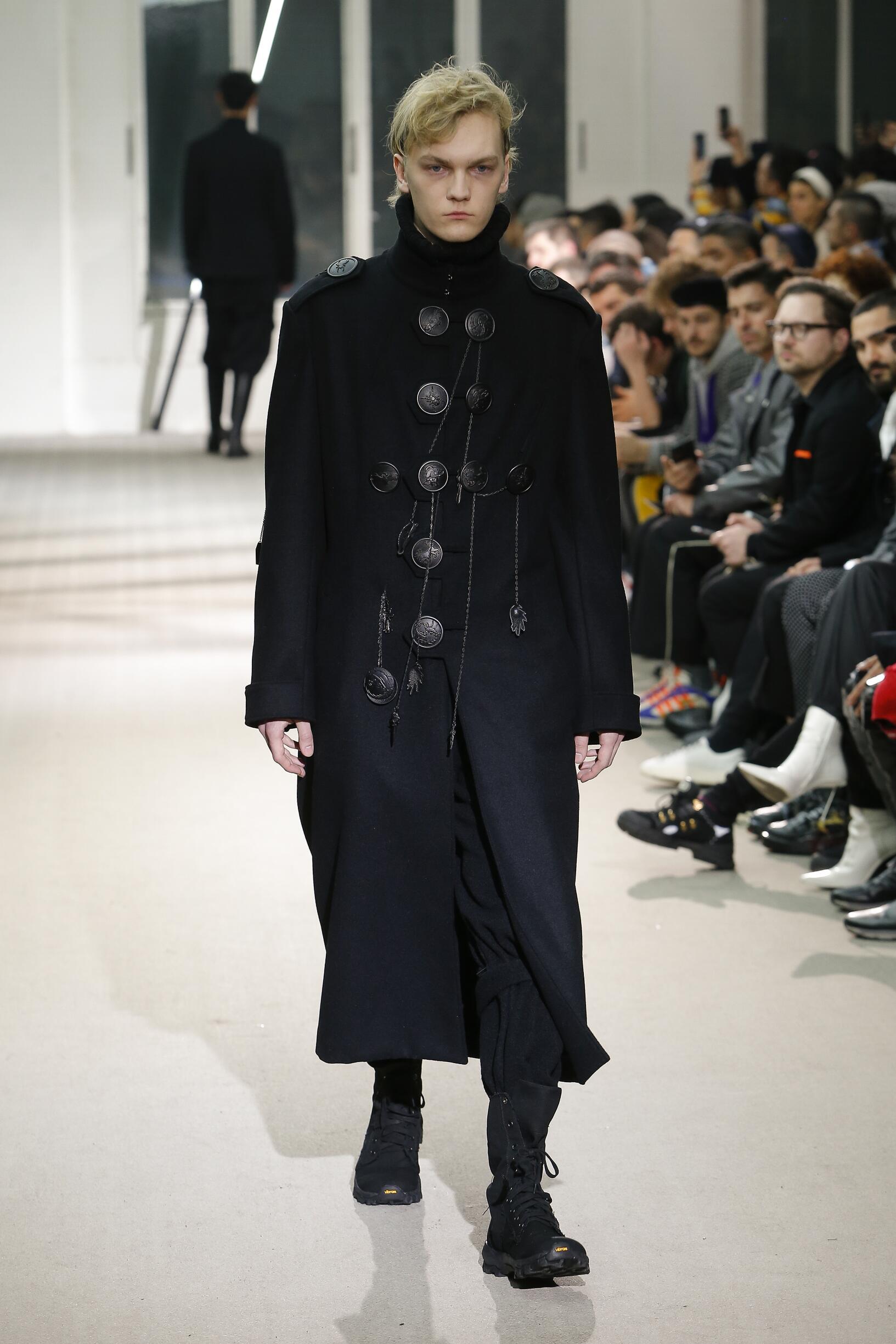 2019 Catwalk Yohji Yamamoto Winter
