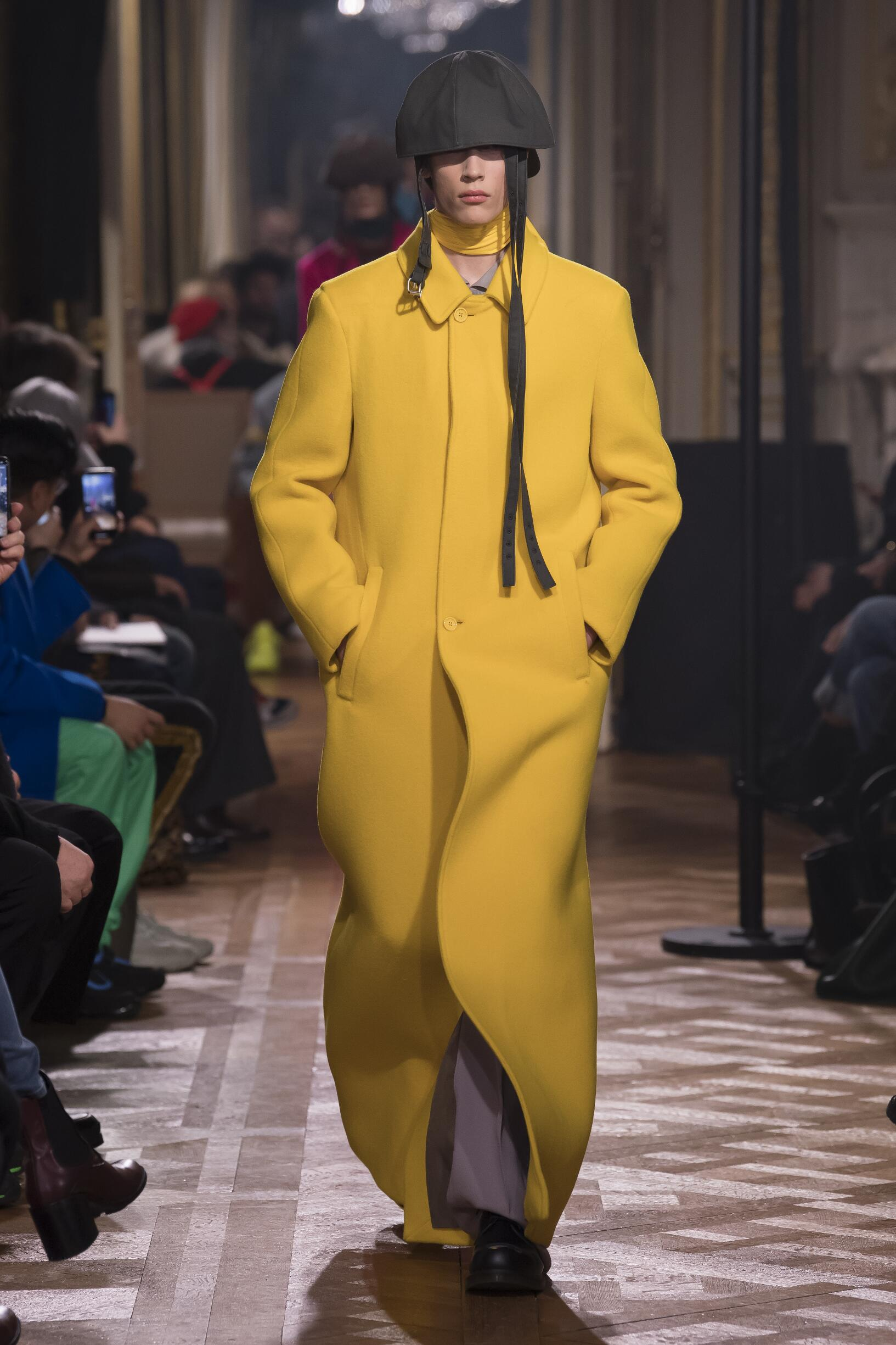 2019 Raf Simons Fall Catwalk